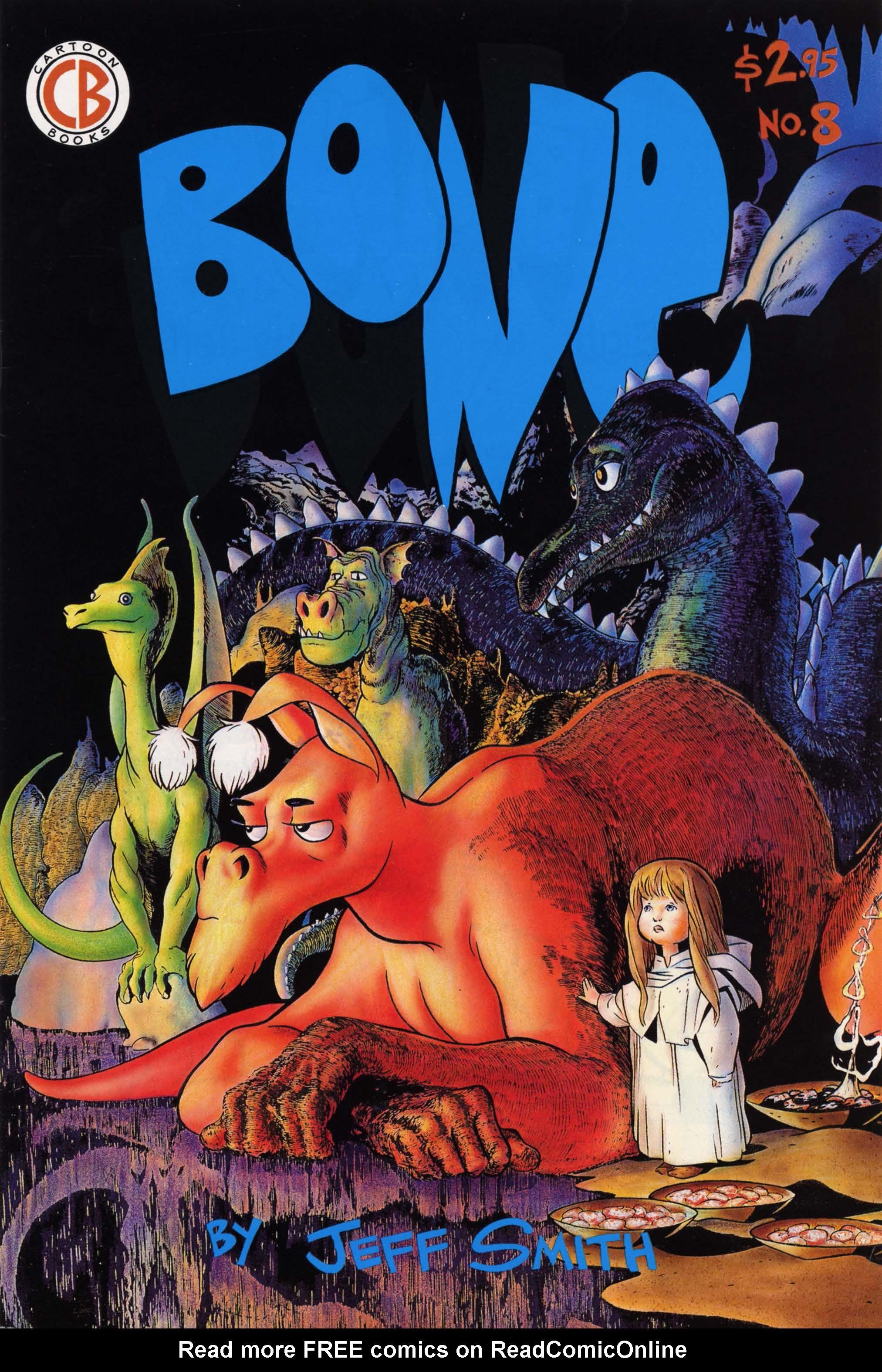 Bone 1991 Issue 8