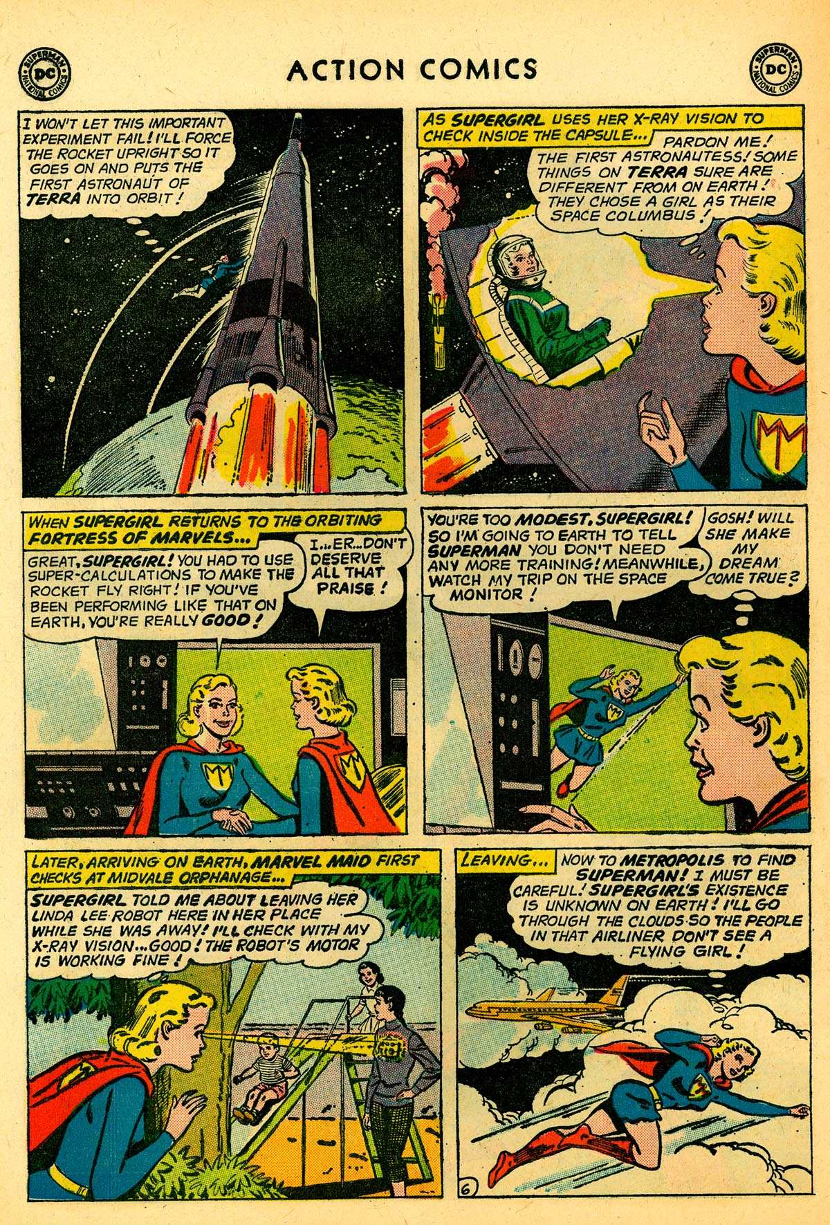 Read online Action Comics (1938) comic -  Issue #273 - 22