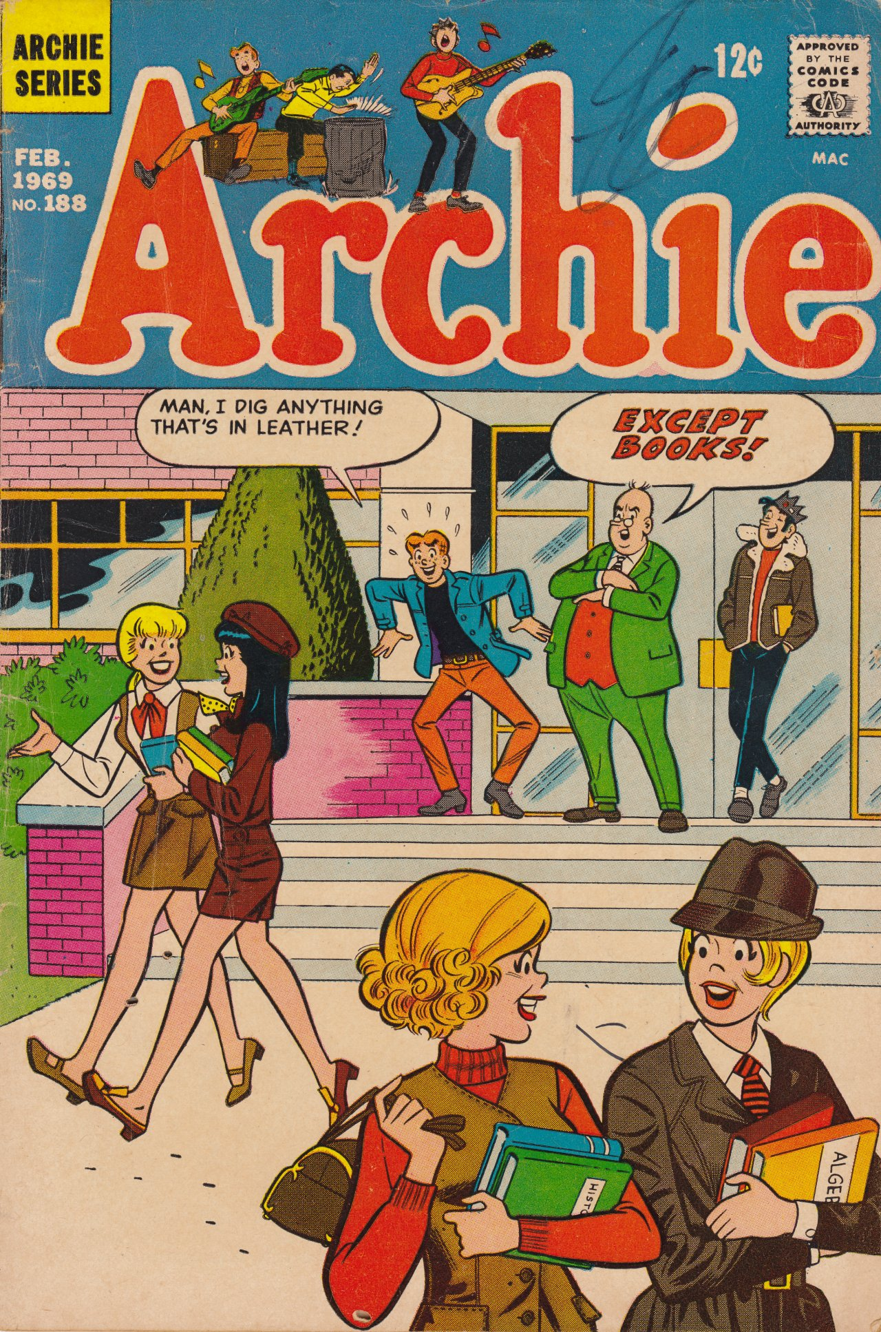 Read online Archie (1960) comic -  Issue #188 - 1