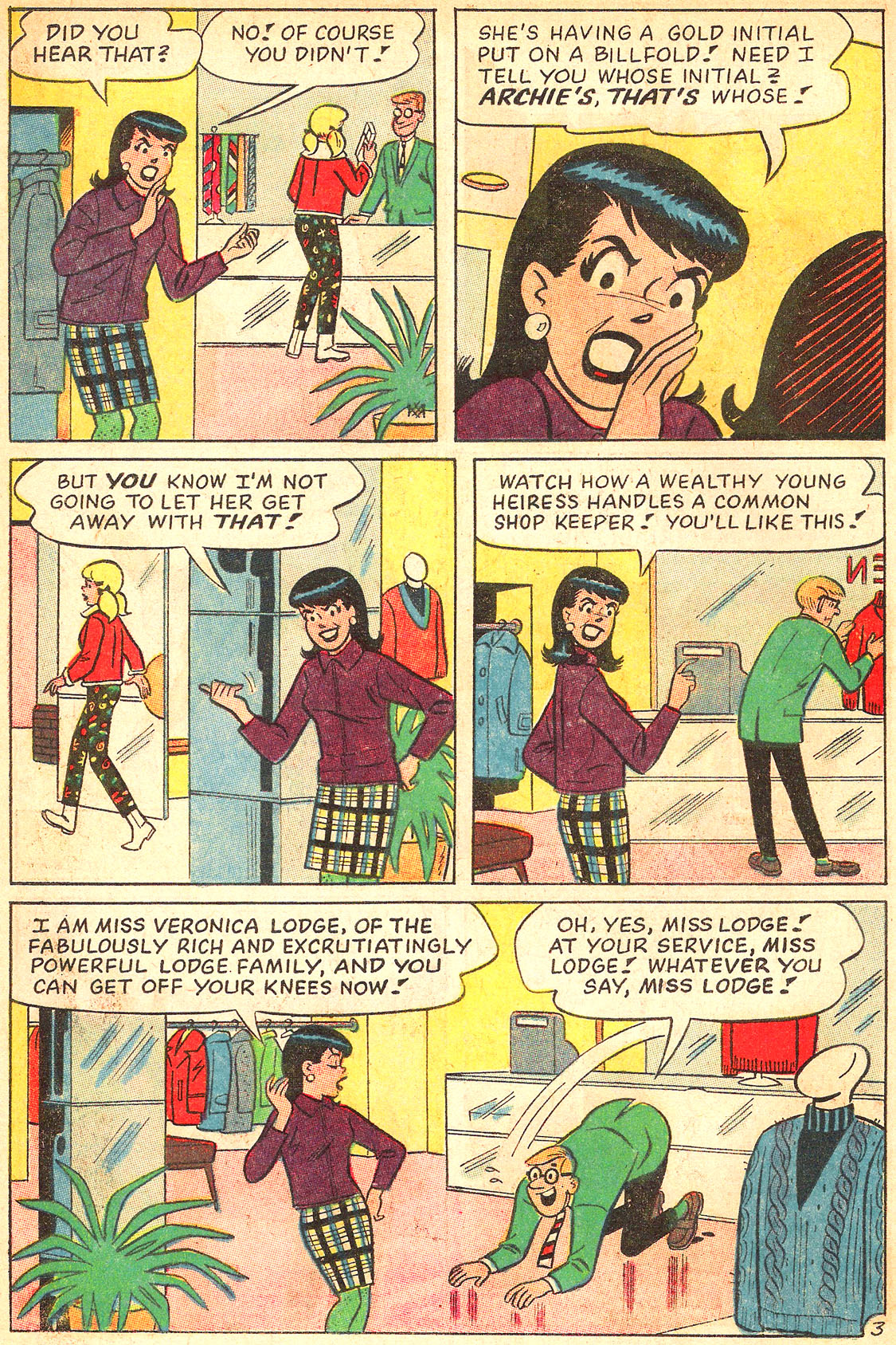 Read online Archie's Girls Betty and Veronica comic -  Issue #134 - 22