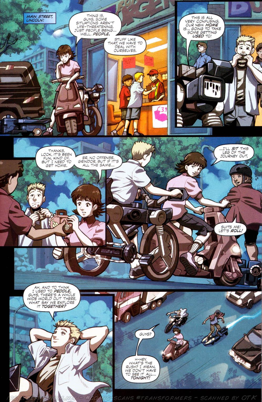 Read online Transformers Armada comic -  Issue #8 - 12