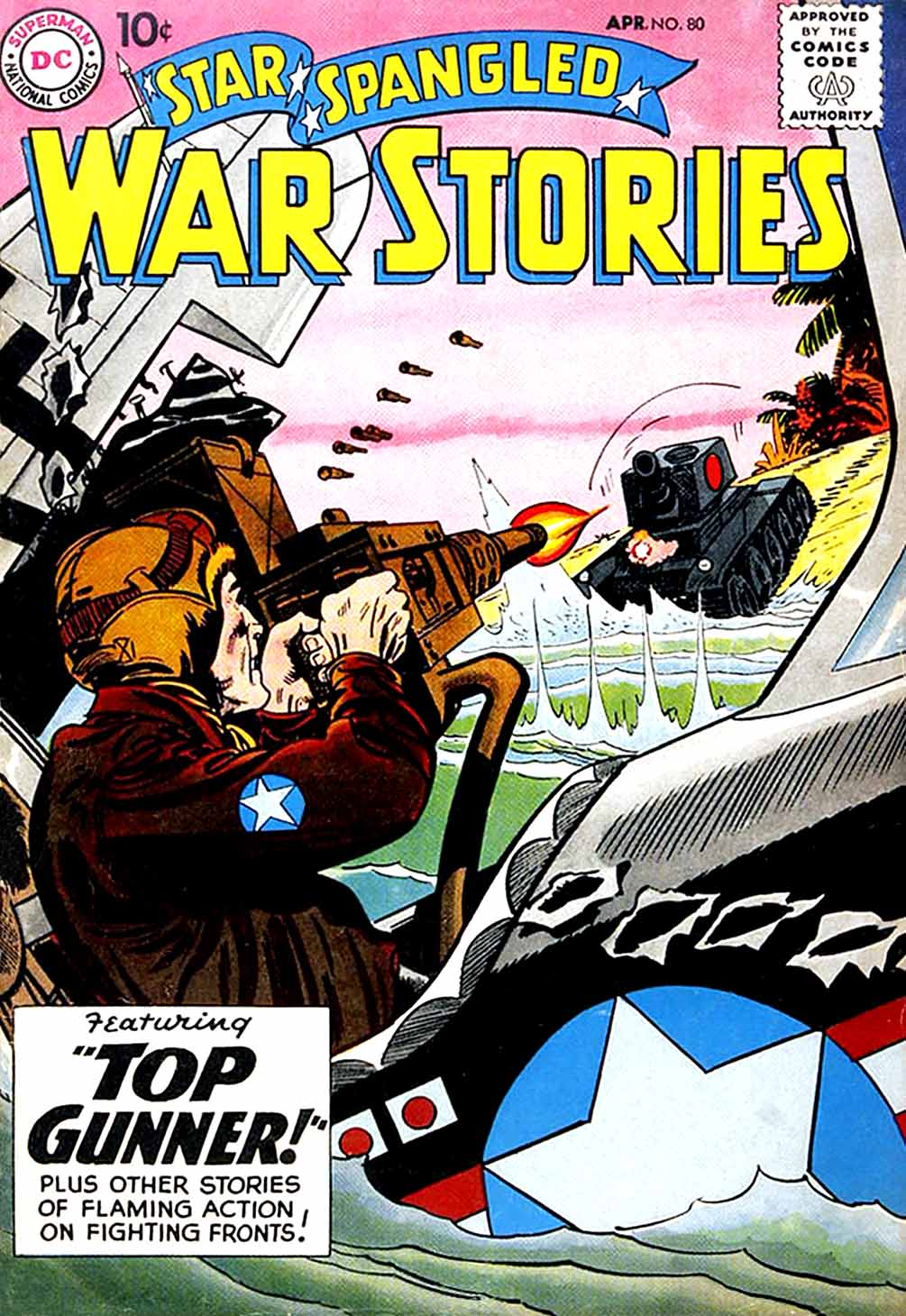 Star Spangled War Stories (1952) issue 80 - Page 1