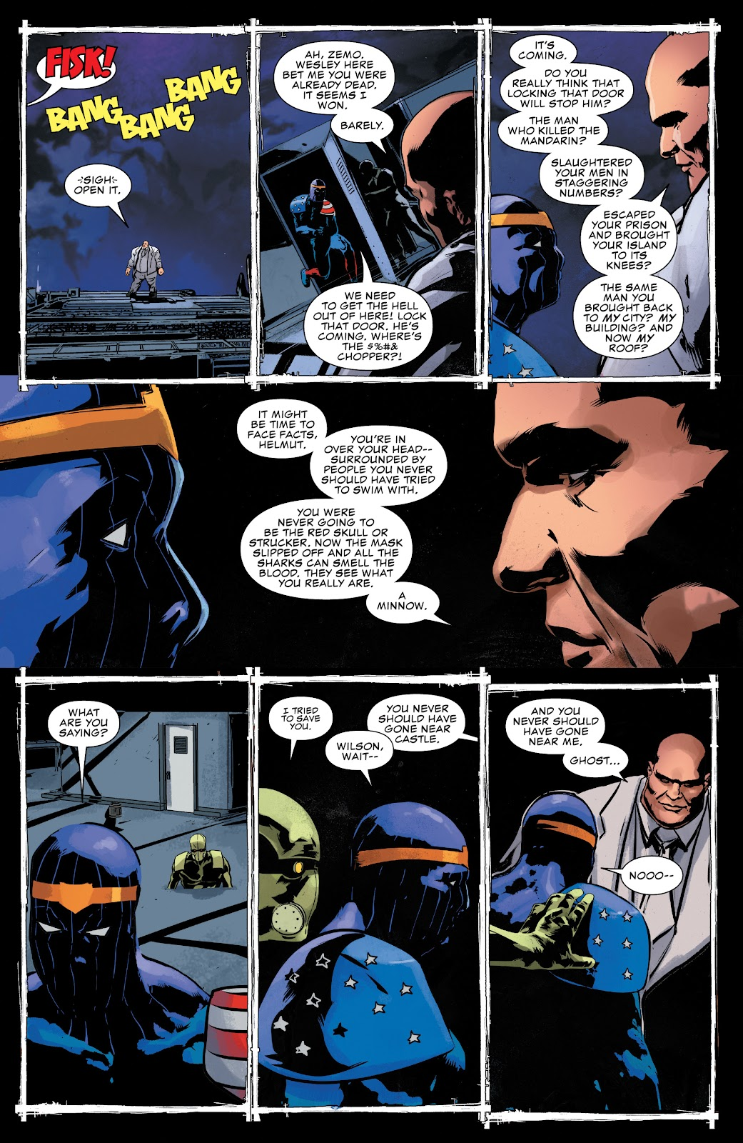 Read online The Punisher (2018) comic -  Issue #16 - 16