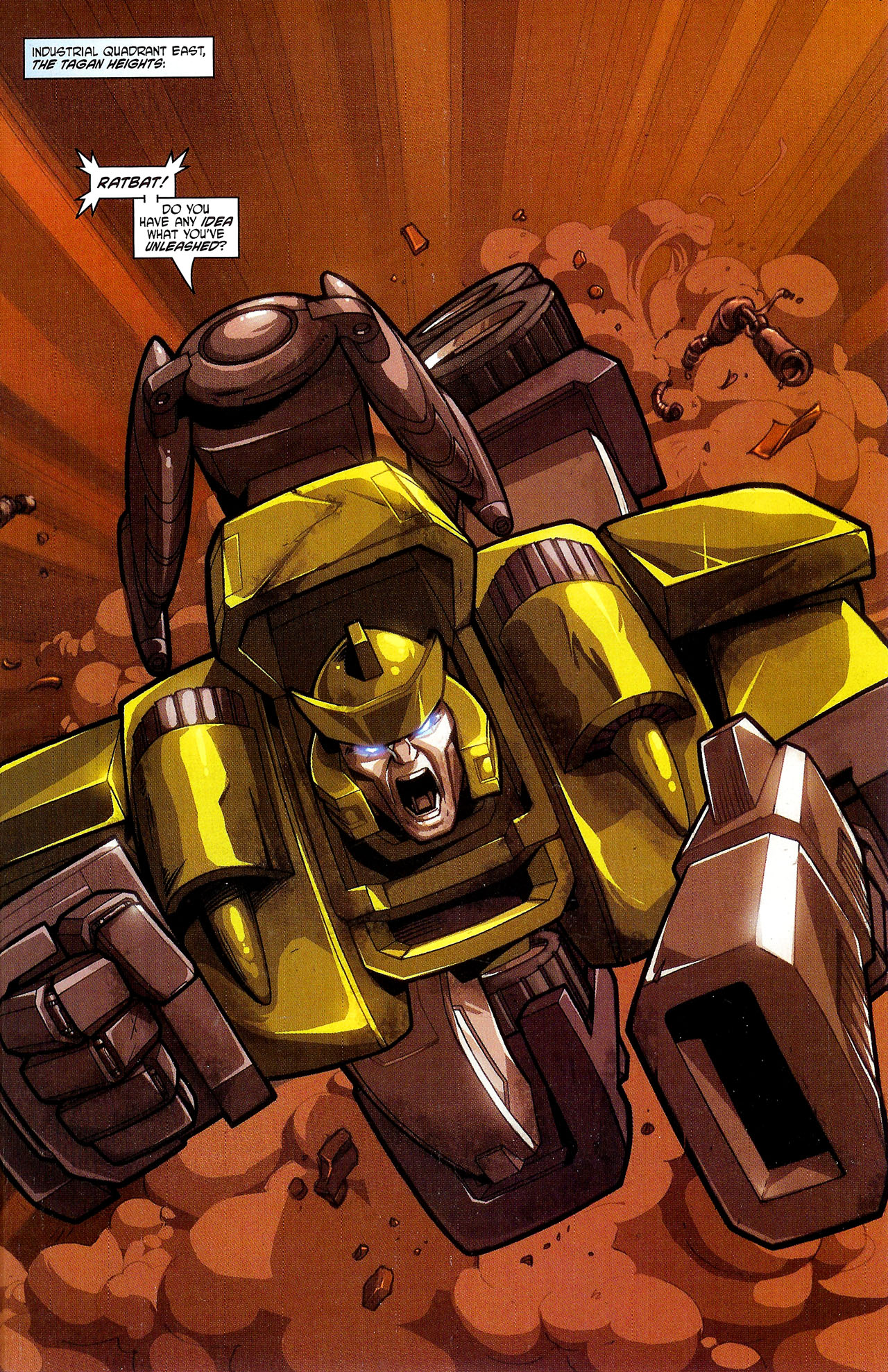 """Read online Transformers War Within: """"The Dark Ages"""" comic -  Issue #3 - 3"""