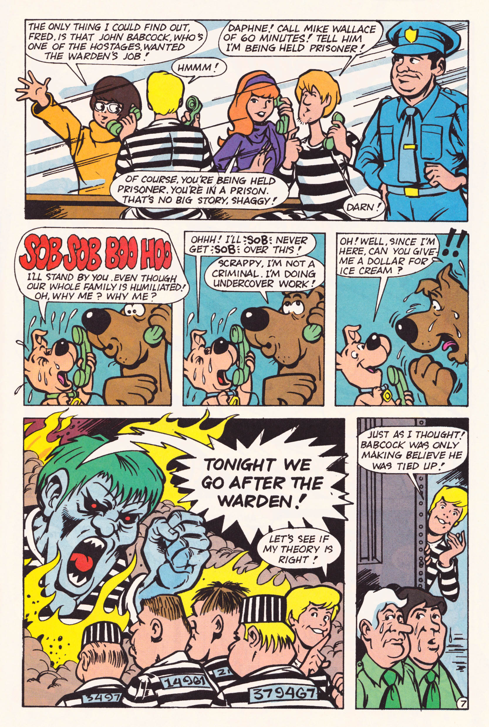 Read online Scooby-Doo (1995) comic -  Issue #1 - 22