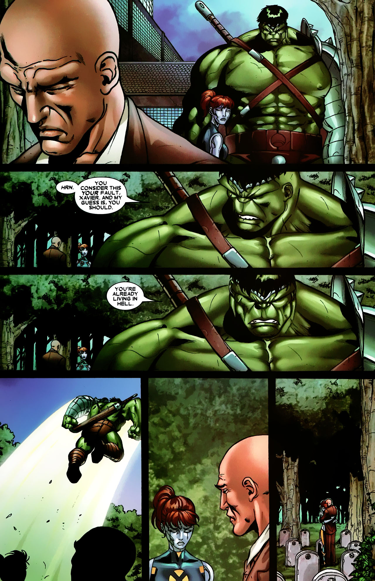 Read online World War Hulk: X-Men comic -  Issue #3 - 22