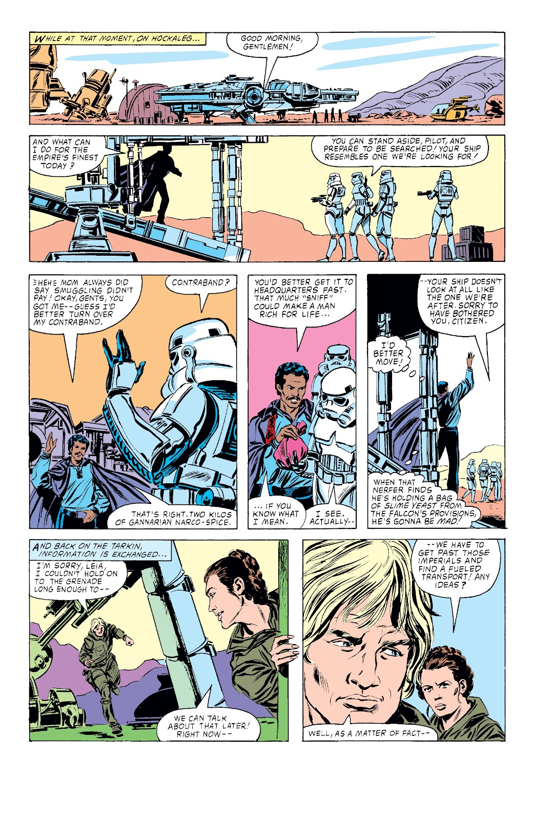Read online Star Wars Legends: The Original Marvel Years - Epic Collection comic -  Issue # TPB 3 (Part 4) - 4