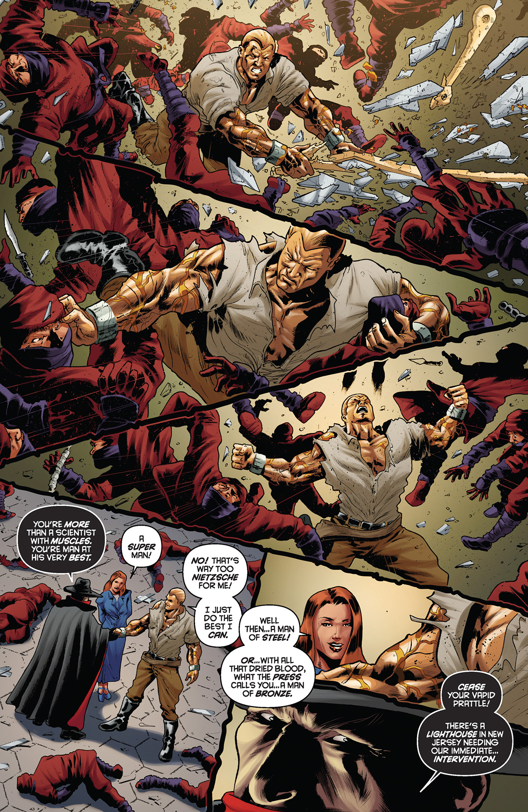 Read online Justice, Inc. comic -  Issue #5 - 21