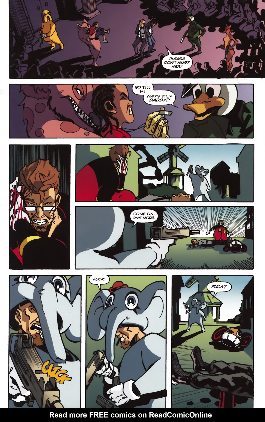 Read online Ricky Rouse Has A Gun comic -  Issue # TPB (Part 2) - 40