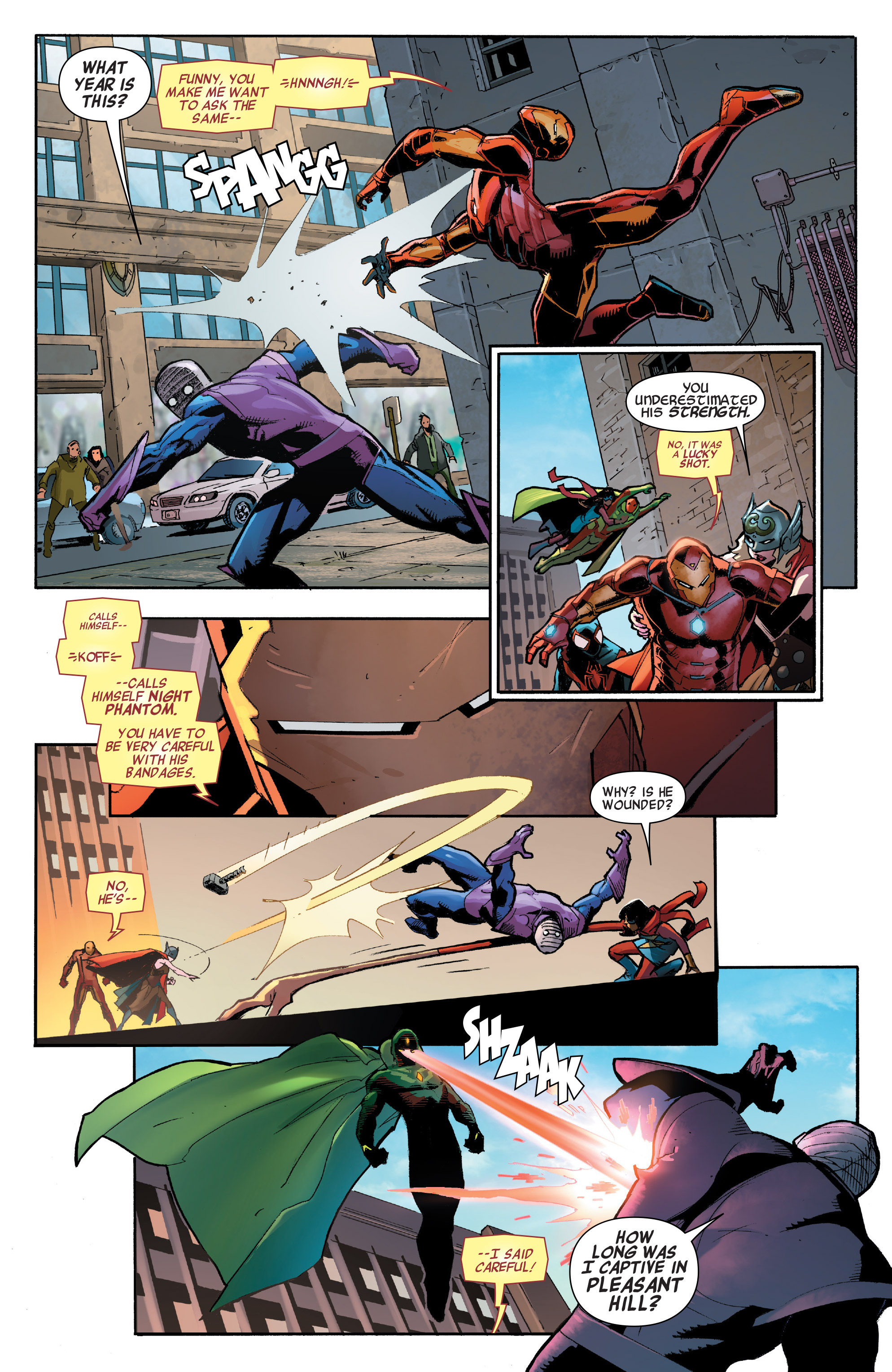 Read online All-New, All-Different Avengers comic -  Issue #7 - 10