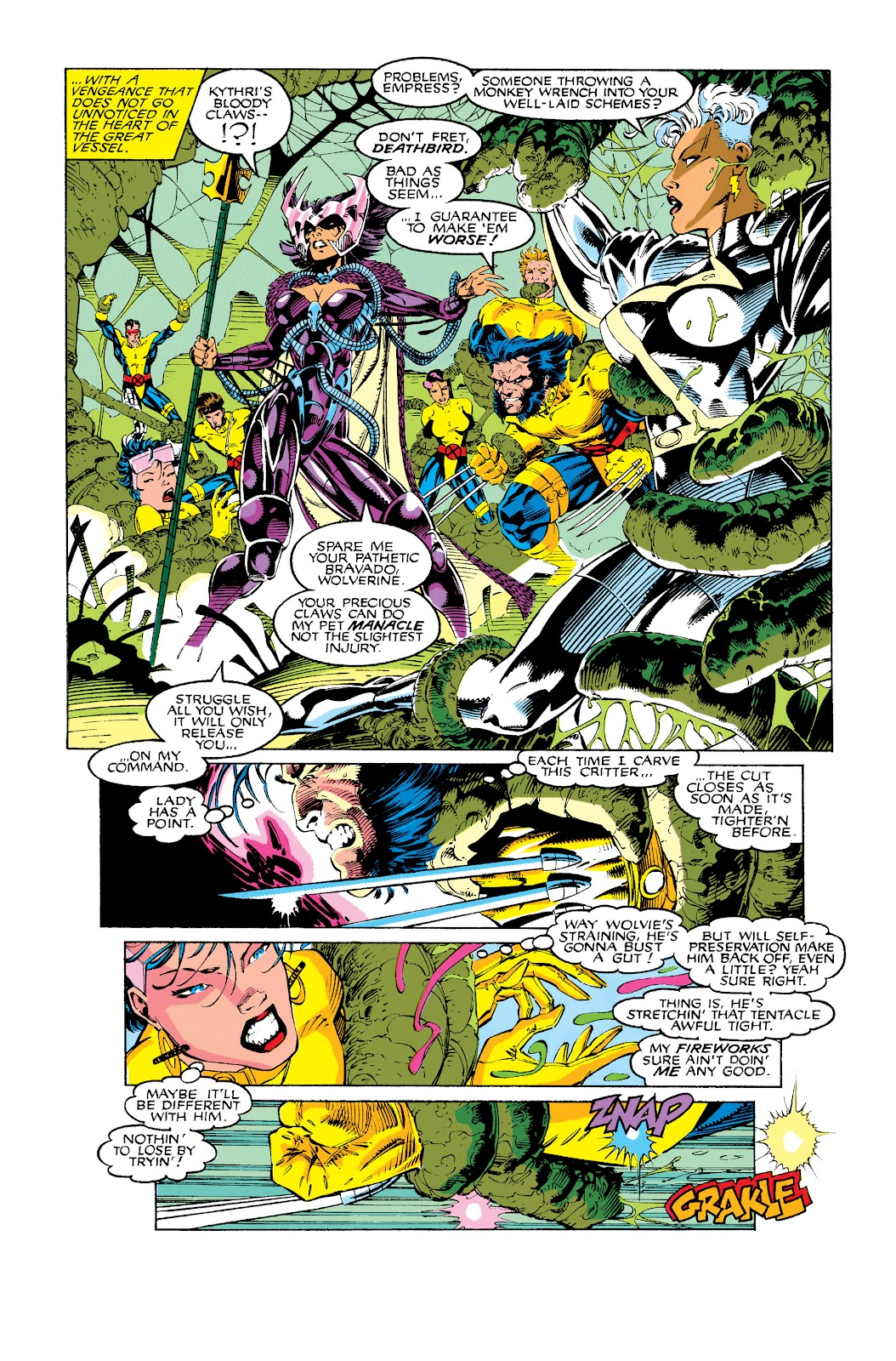 Uncanny X-Men (1963) issue 275 - Page 4