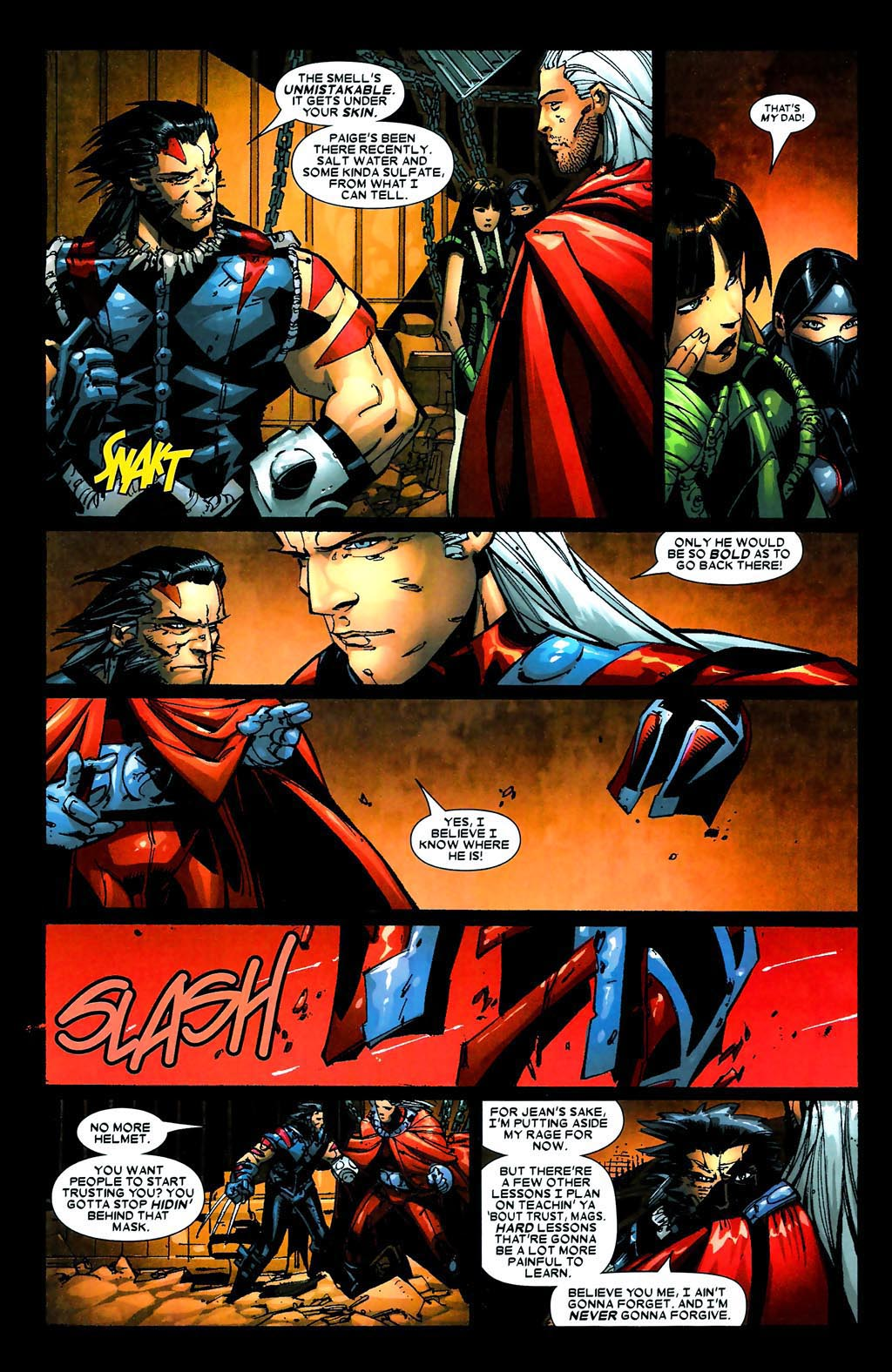 Read online Age of Apocalypse (2005) comic -  Issue #5 - 17