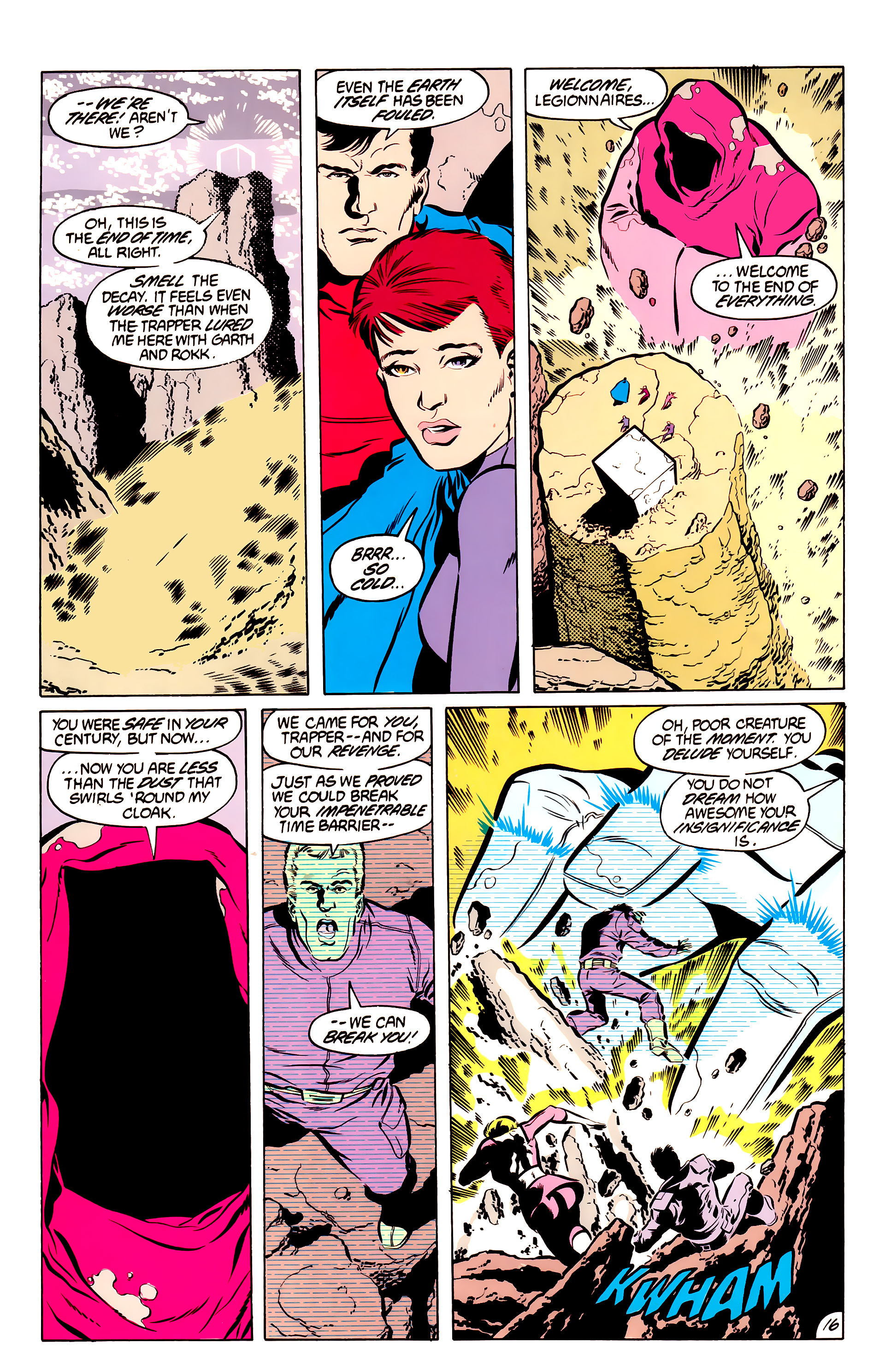 Legion of Super-Heroes (1984) 50 Page 16