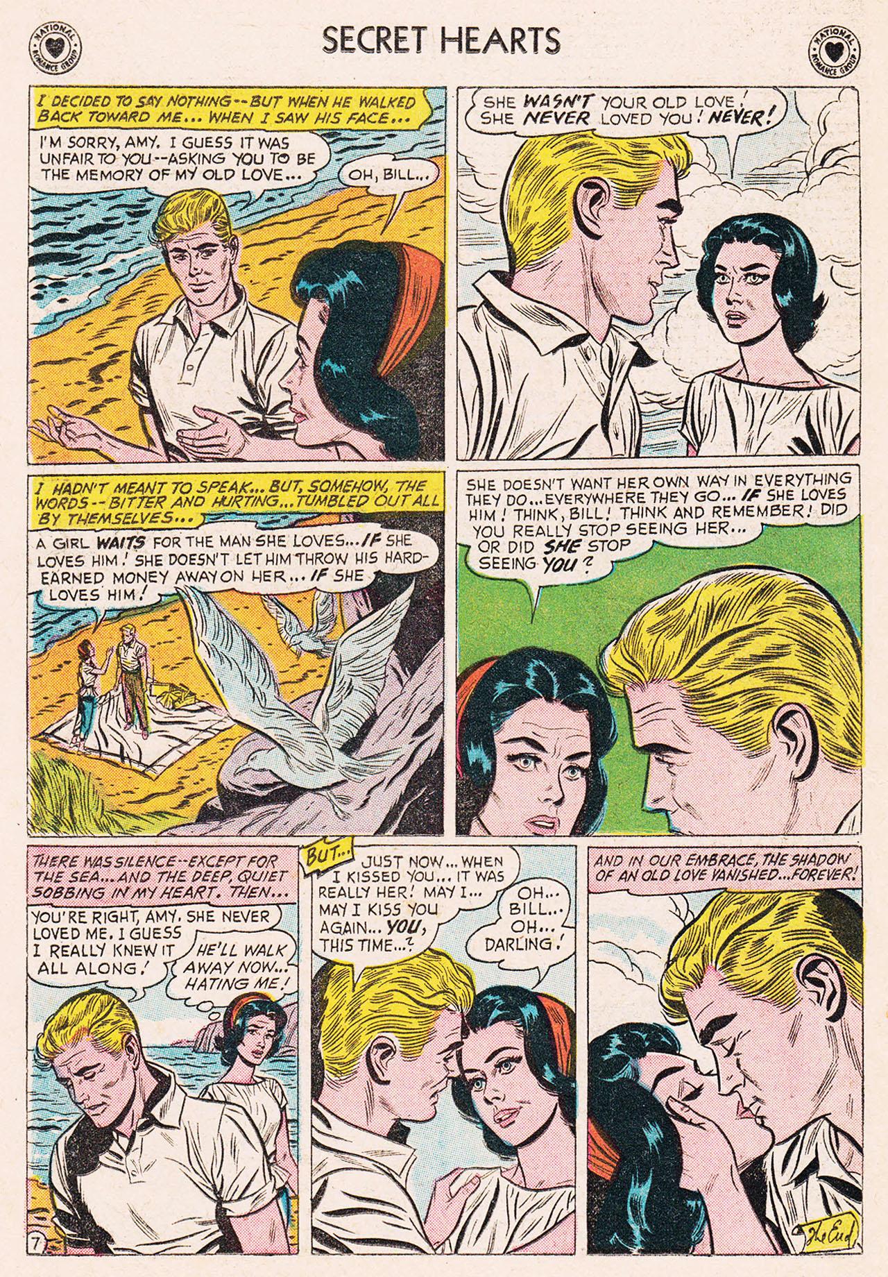 Read online Secret Hearts comic -  Issue #75 - 24