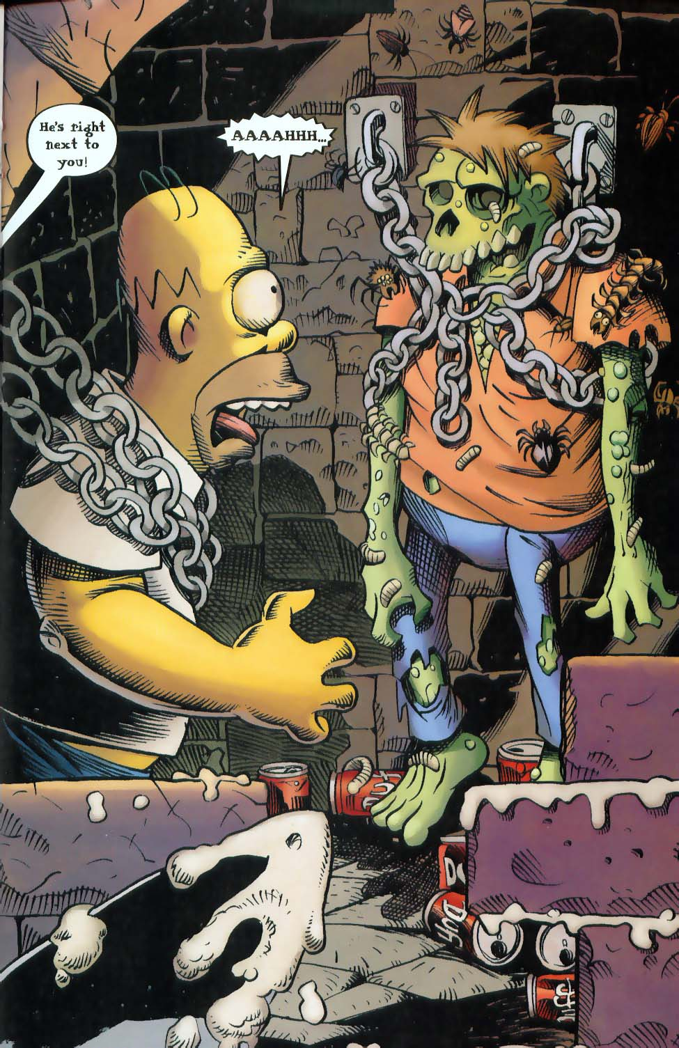 Read online Treehouse of Horror comic -  Issue #9 - 29