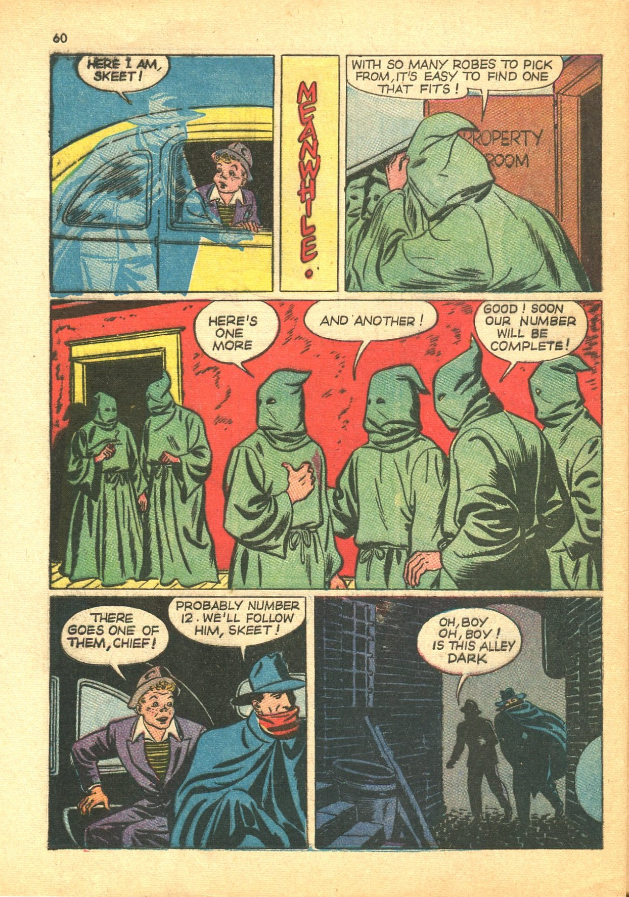 Read online Shadow Comics comic -  Issue #24 - 52
