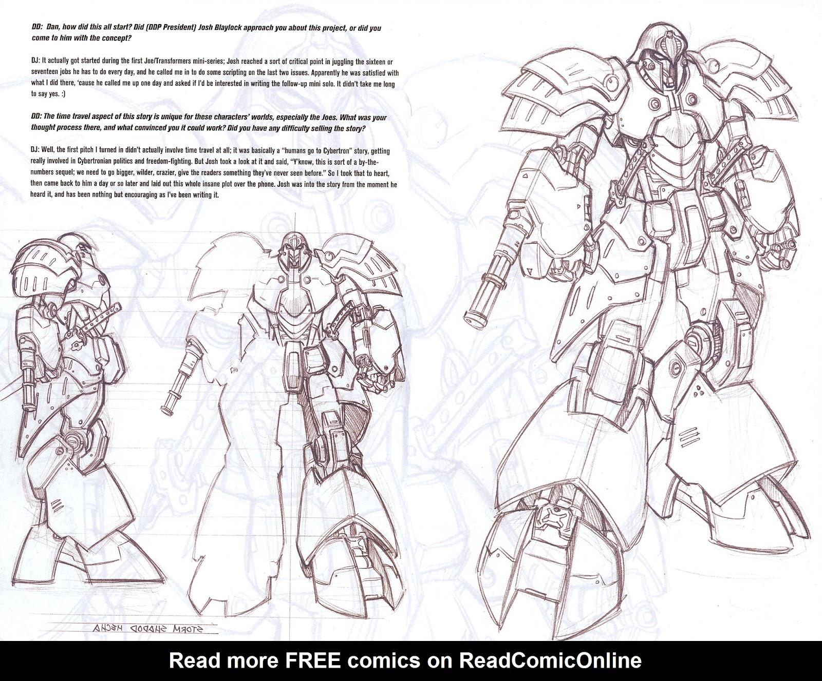 G.I. Joe vs. The Transformers II Issue #0 #1 - English 5