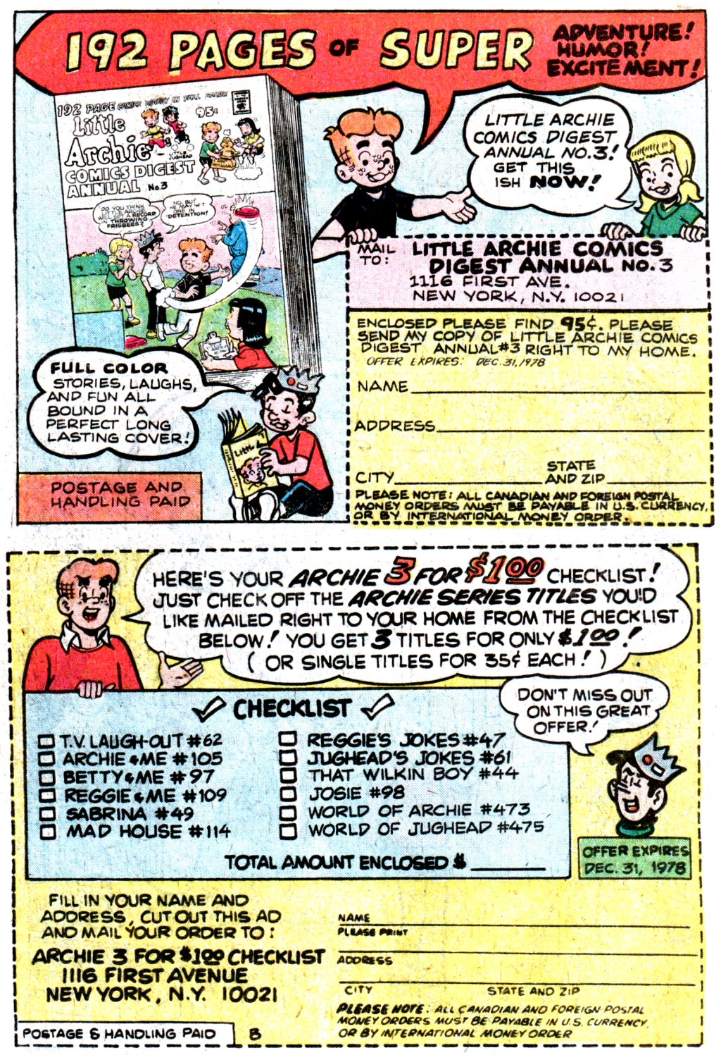 Read online Archie (1960) comic -  Issue #274 - 18