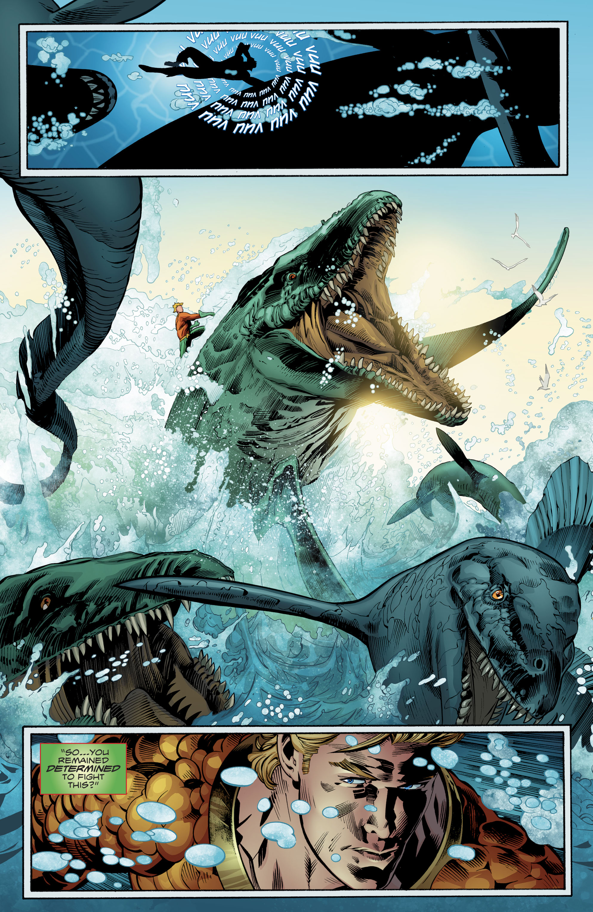 Read online Aquaman (2016) comic -  Issue #24 - 5