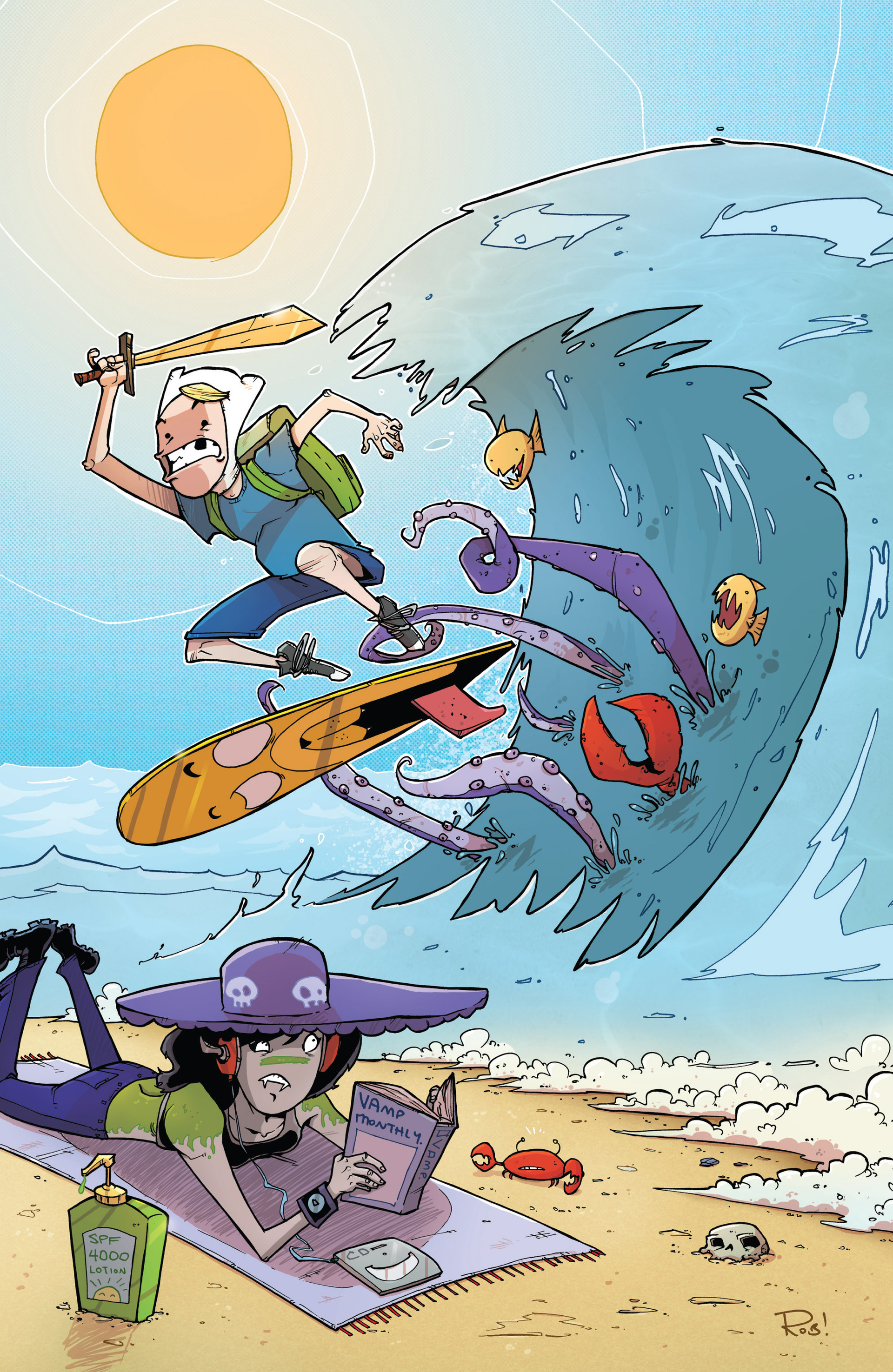 Read online Adventure Time 2013 Summer Special comic -  Issue #Adventure Time 2013 Summer Special Full - 3