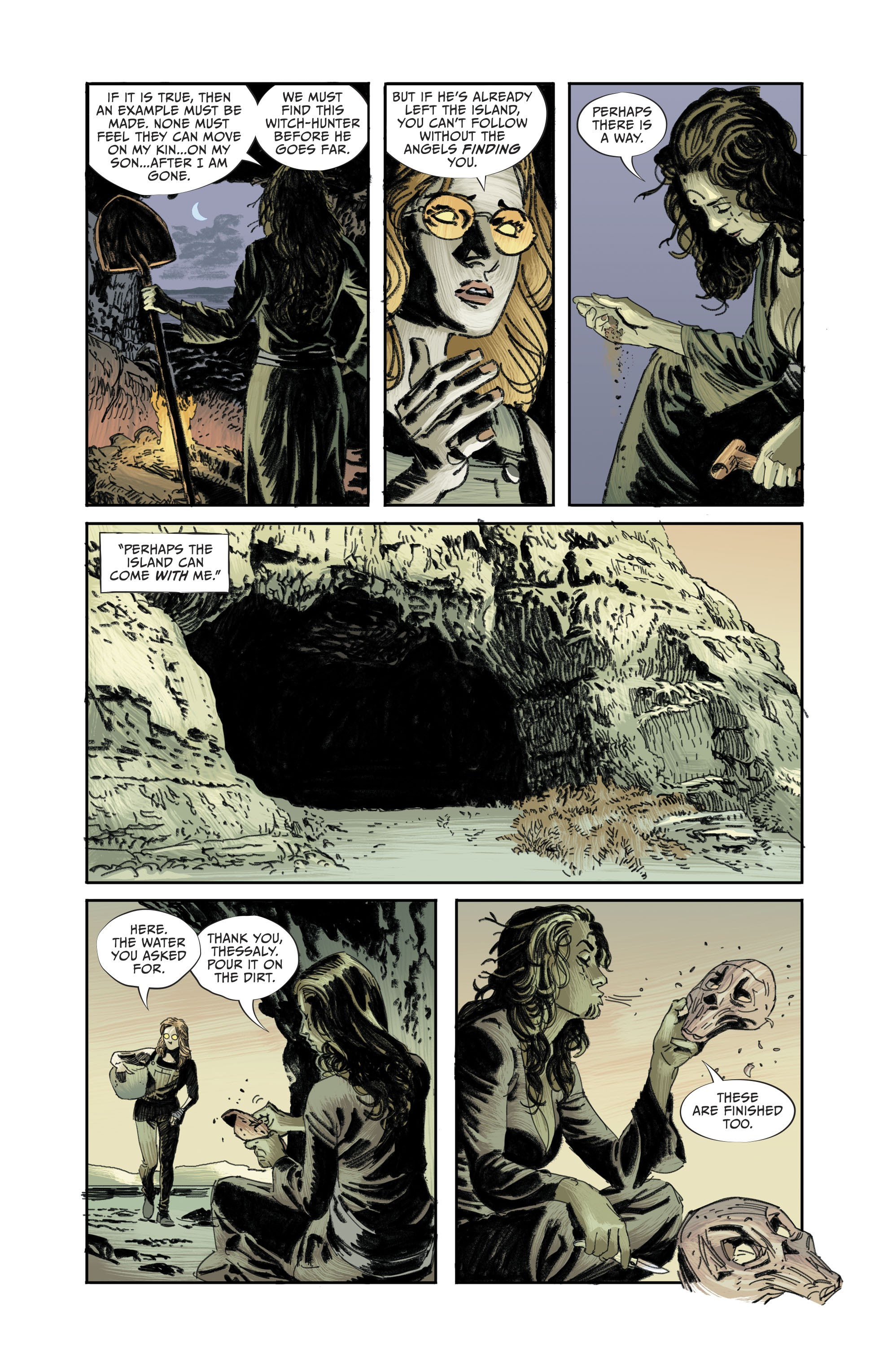 Read online Lucifer (2018) comic -  Issue #11 - 11