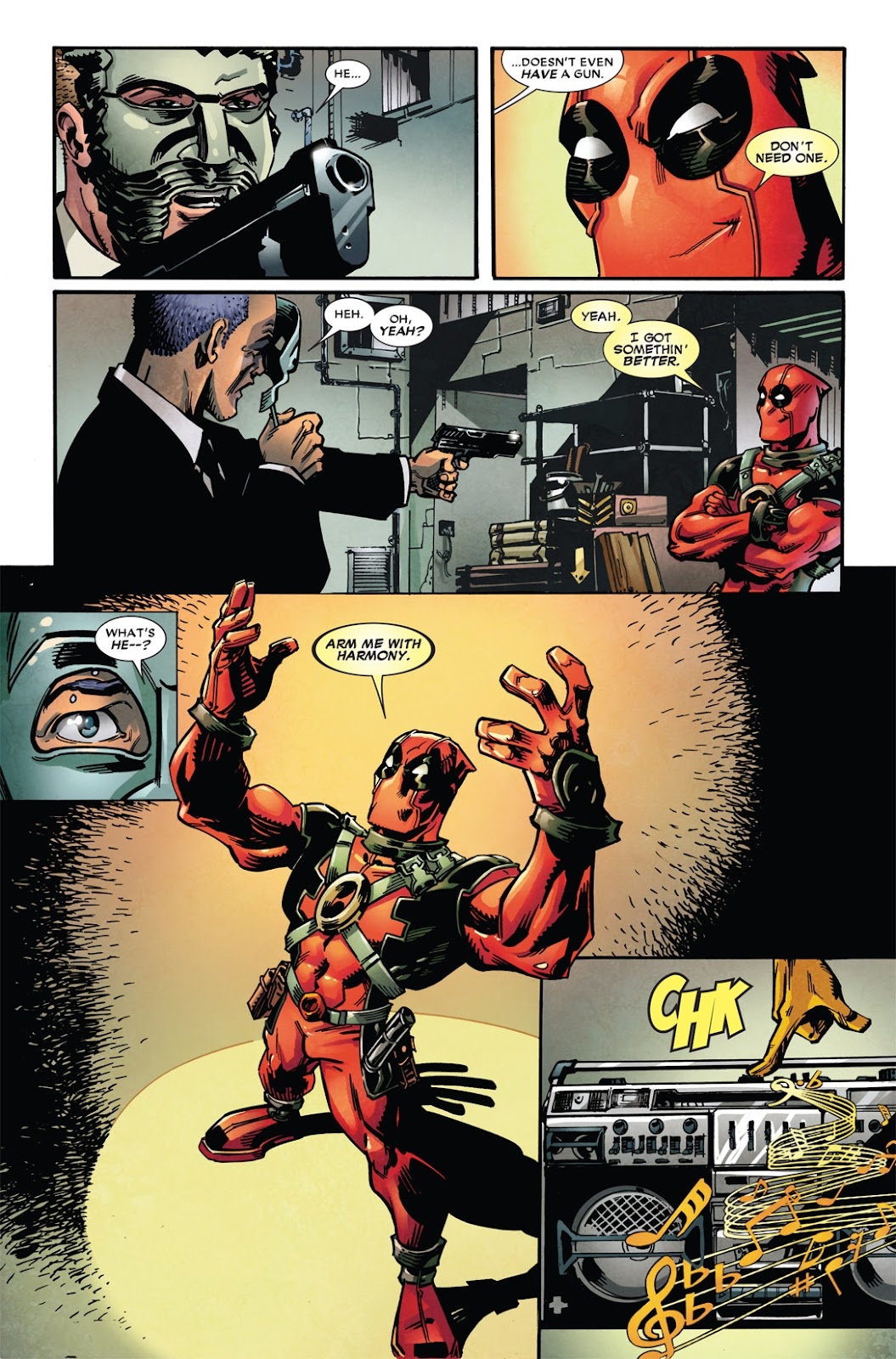 Read online Deadpool (2008) comic -  Issue #49.1 - 4