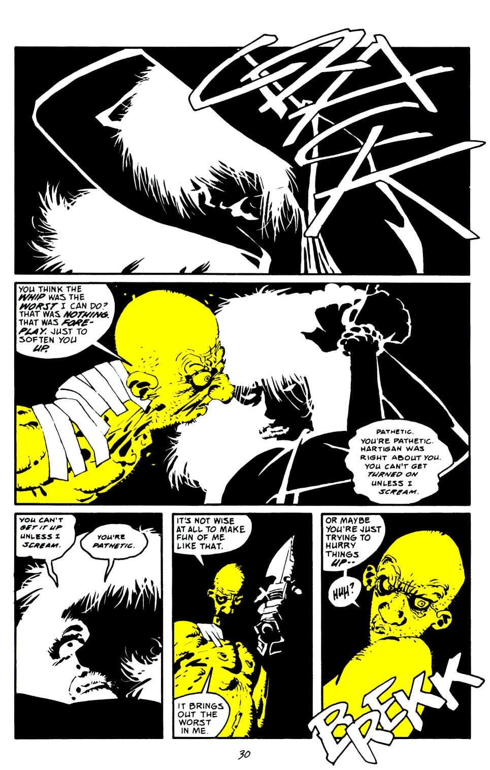 Read online Sin City: That Yellow Bastard comic -  Issue #6 - 30