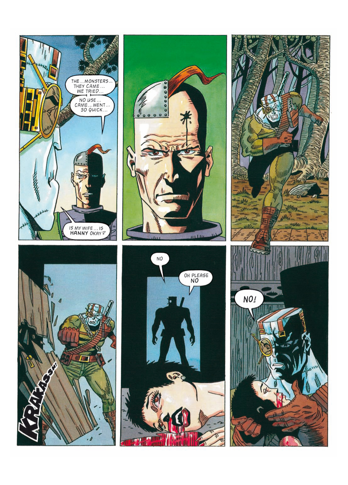 Read online The Complete Bad Company comic -  Issue # TPB - 291