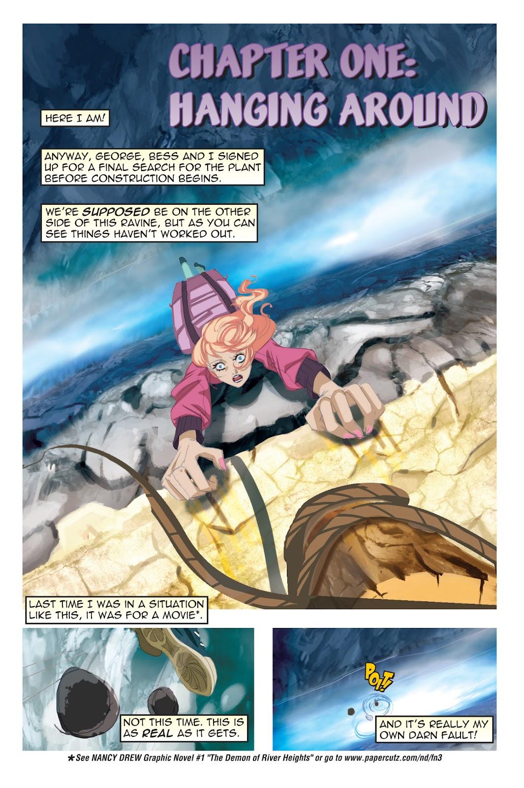 Read online Nancy Drew comic -  Issue #19 - 5