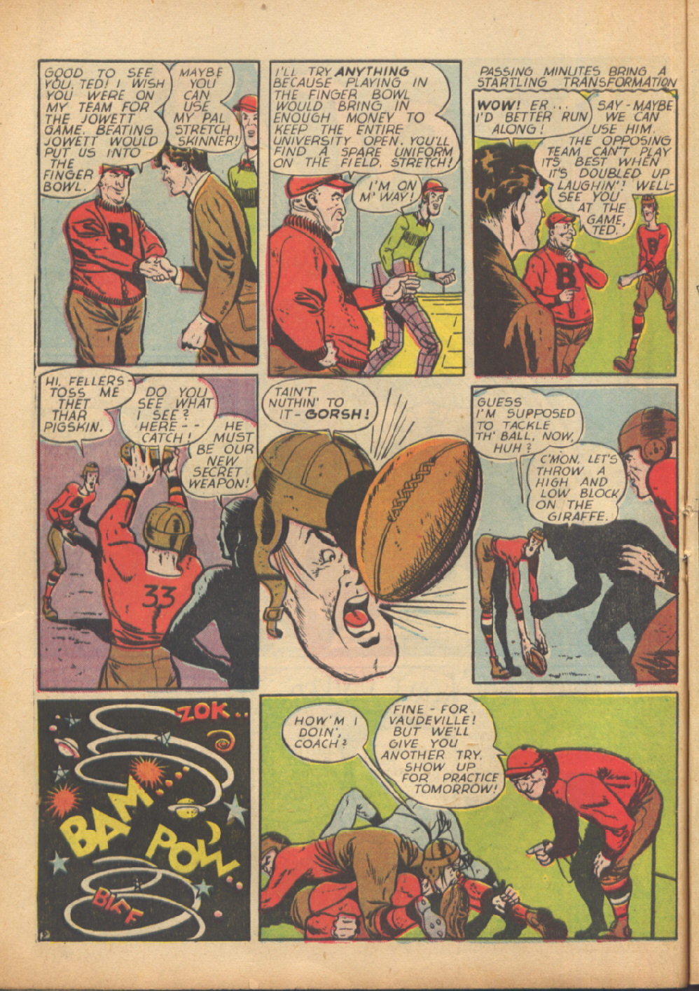 Read online Sensation (Mystery) Comics comic -  Issue #24 - 50