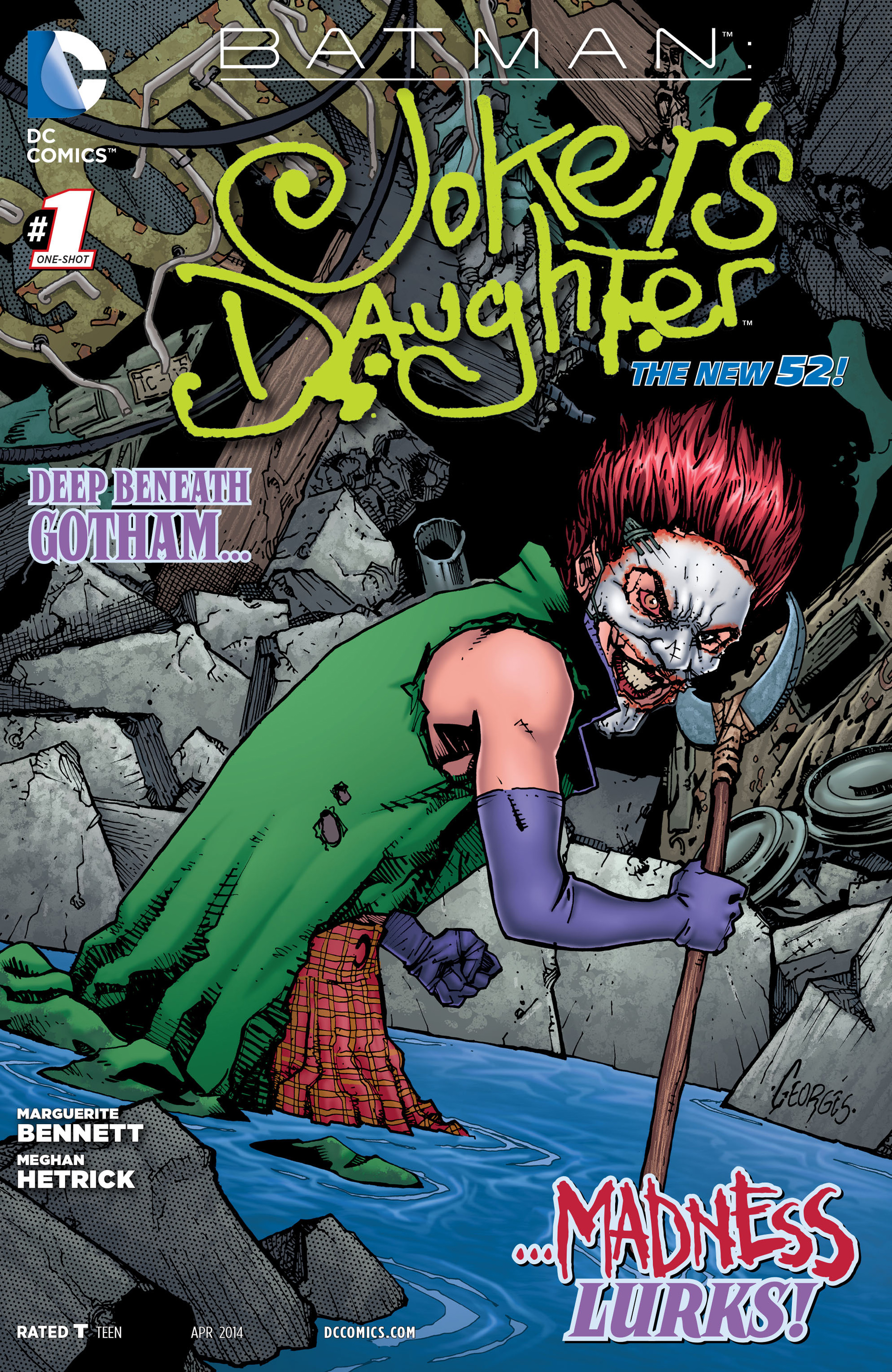 Batman: Jokers Daughter Full Page 1