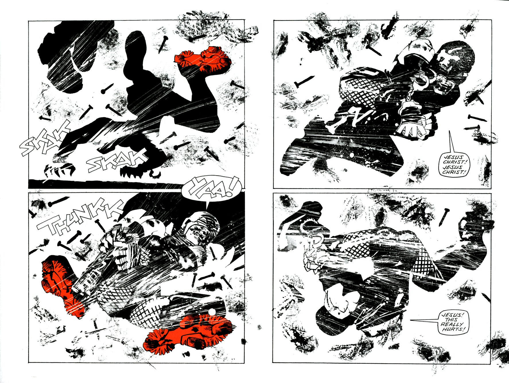 Read online Frank Miller's Holy Terror comic -  Issue # TPB - 36