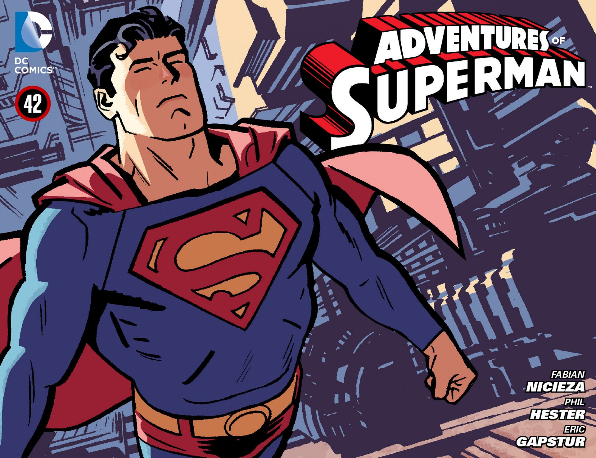 Read online Adventures of Superman [I] comic -  Issue #42 - 1