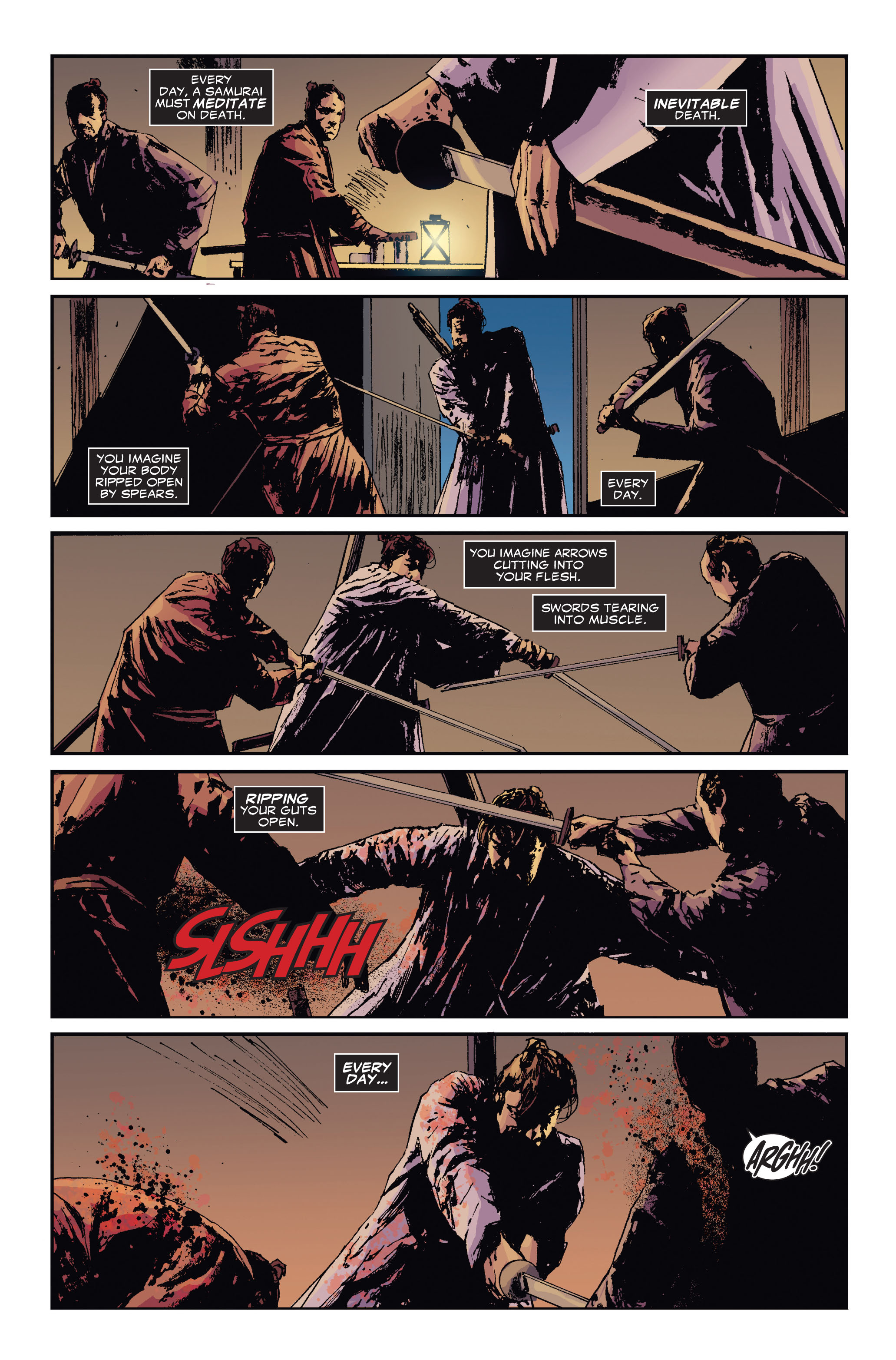 Read online 5 Ronin (2011) comic -  Issue #3 - 12