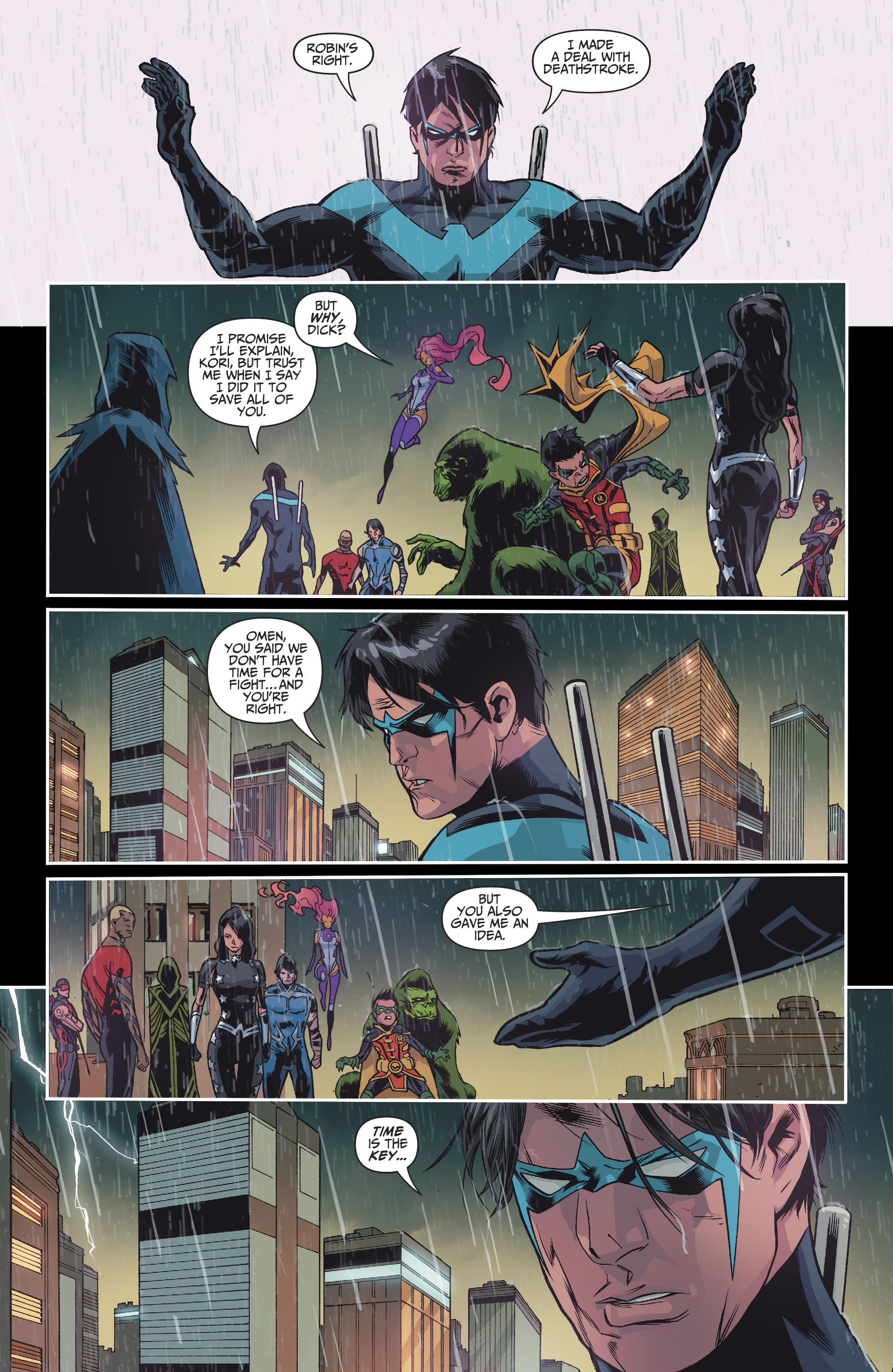 Read online Teen Titans (2016) comic -  Issue #8 - 15