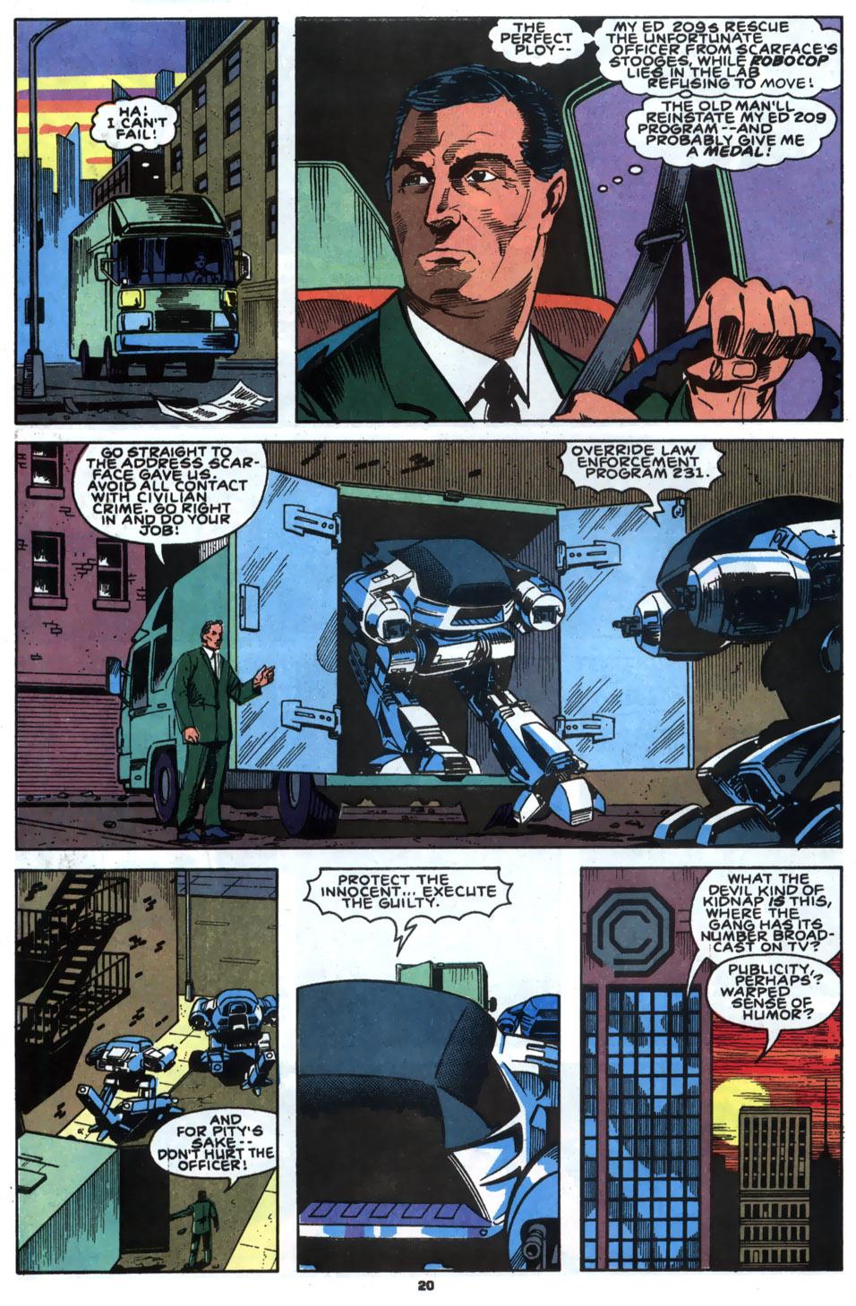 Read online Robocop (1990) comic -  Issue #2 - 16