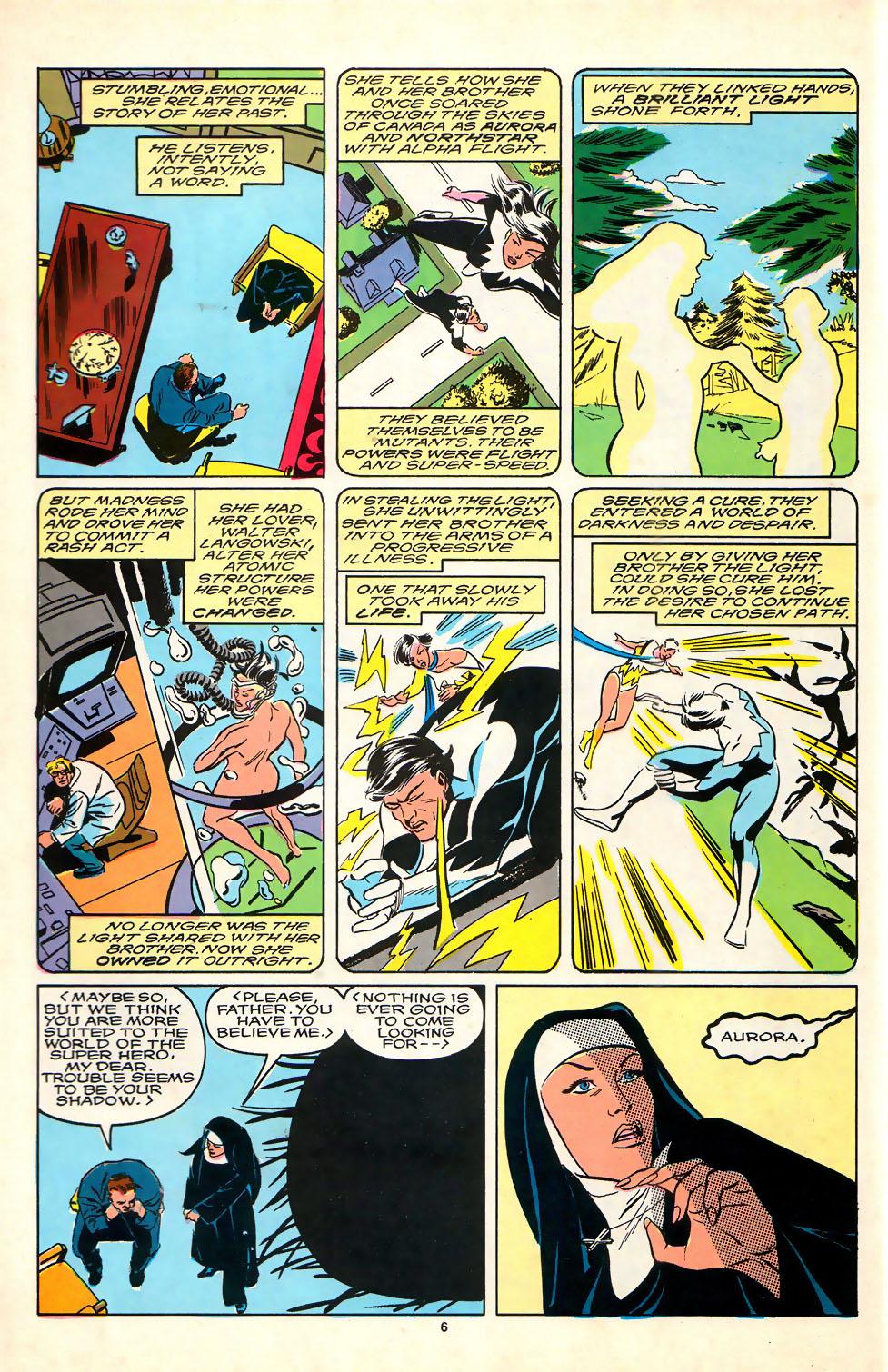 Read online Alpha Flight (1983) comic -  Issue #81 - 6