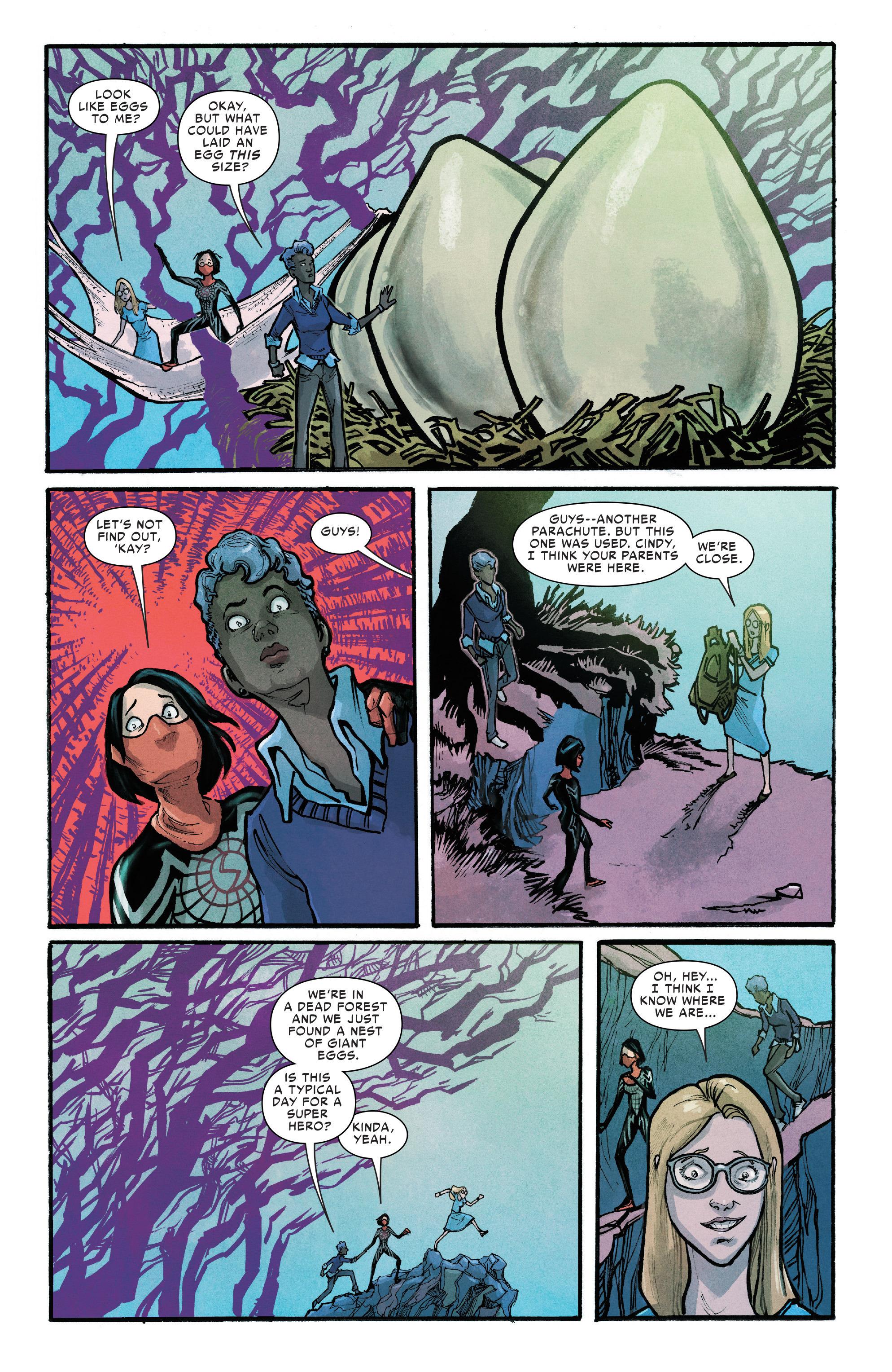 Read online Silk (2016) comic -  Issue #12 - 10