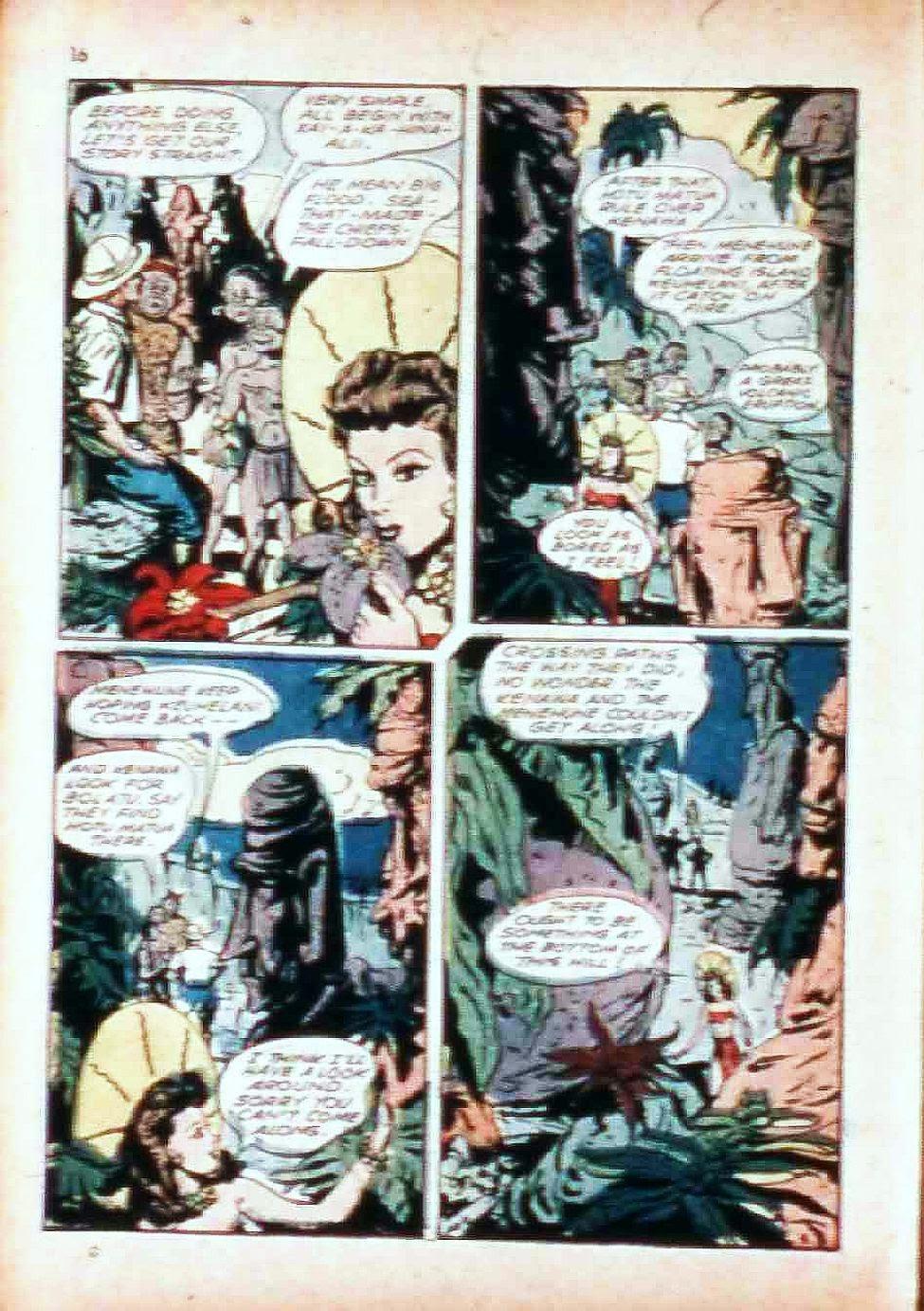 Read online Super-Magician Comics comic -  Issue #17 - 16