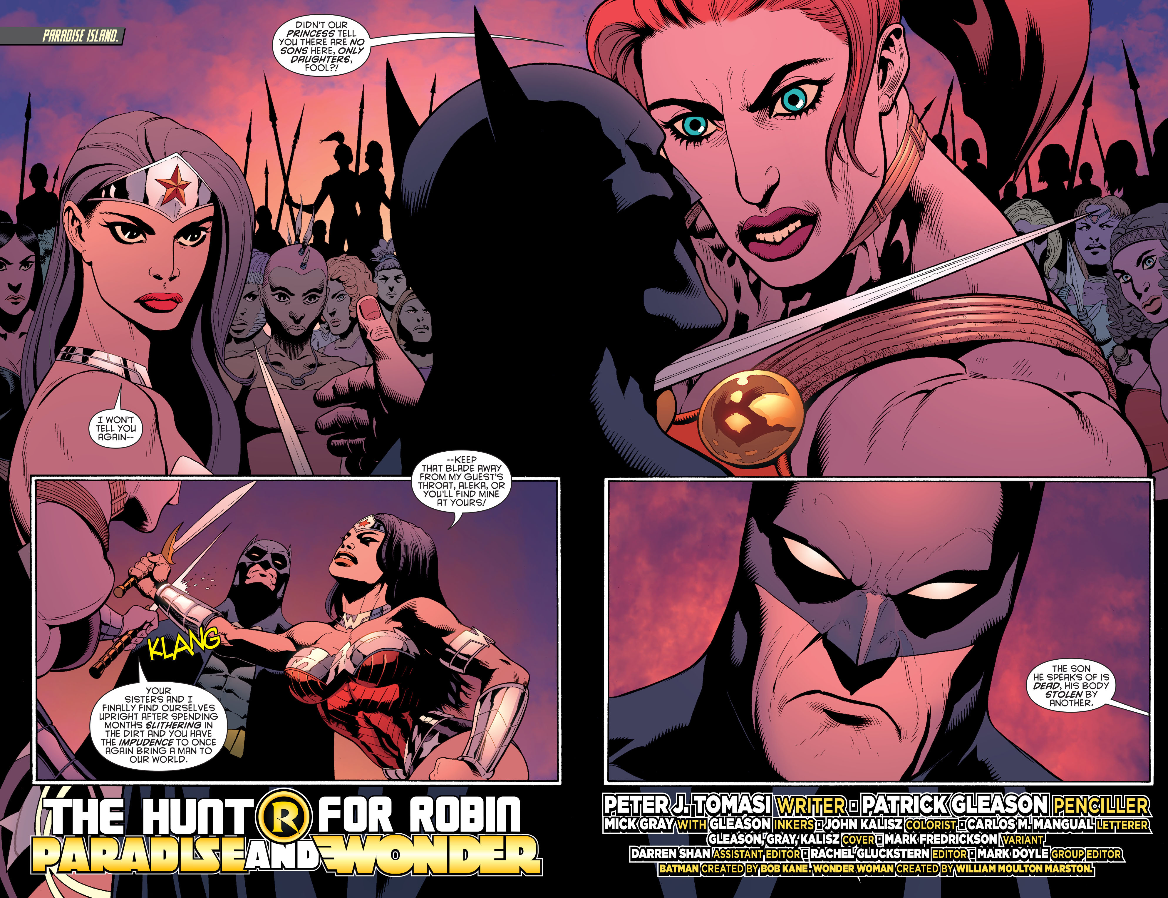 Read online Batman and Robin (2011) comic -  Issue #30 - Batman and Wonder Woman - 3