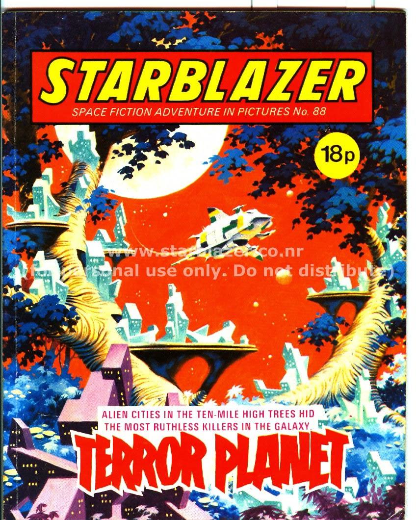 Starblazer issue 88 - Page 1