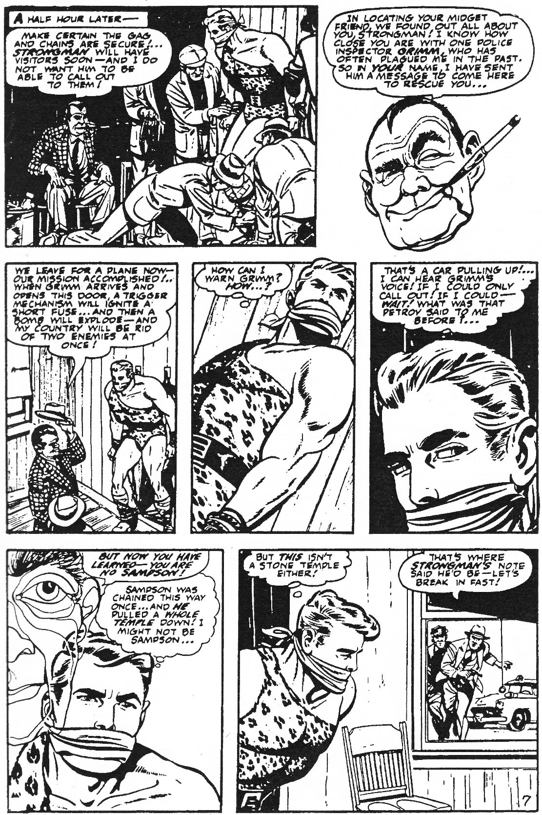 Read online Men of Mystery Comics comic -  Issue #61 - 33