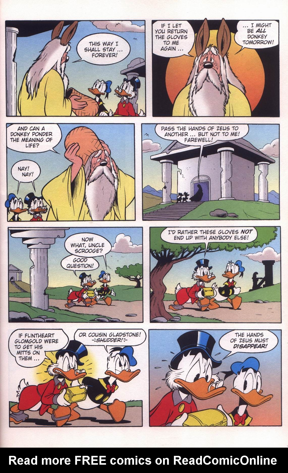 Read online Uncle Scrooge (1953) comic -  Issue #312 - 23