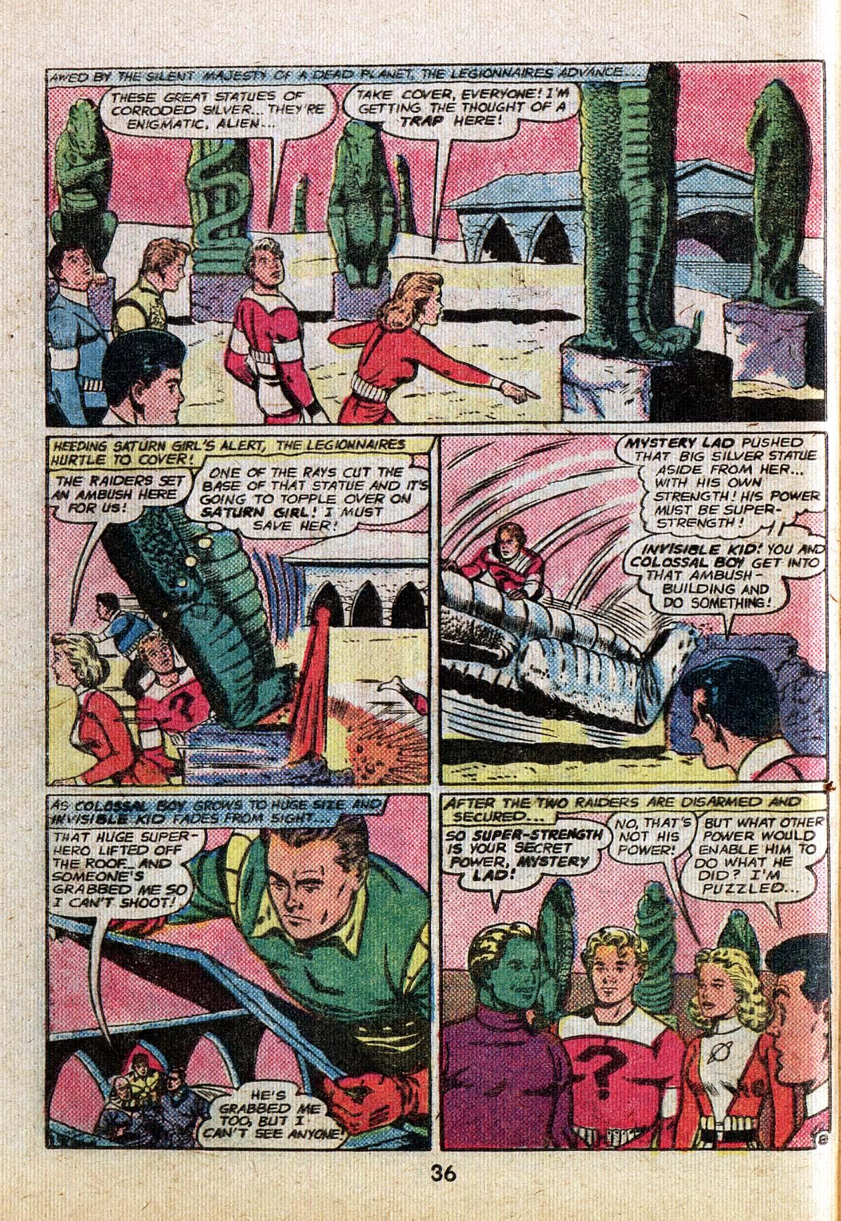 Read online Adventure Comics (1938) comic -  Issue #500 - 36