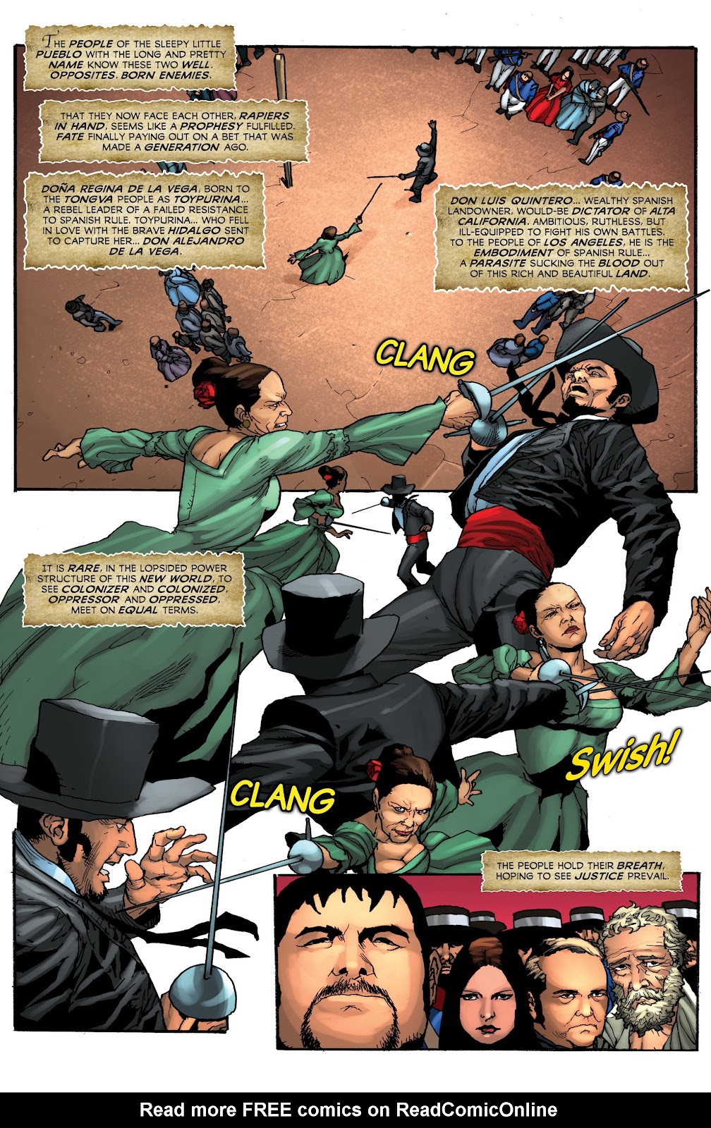 Read online Zorro: Swords of Hell comic -  Issue #4 - 16