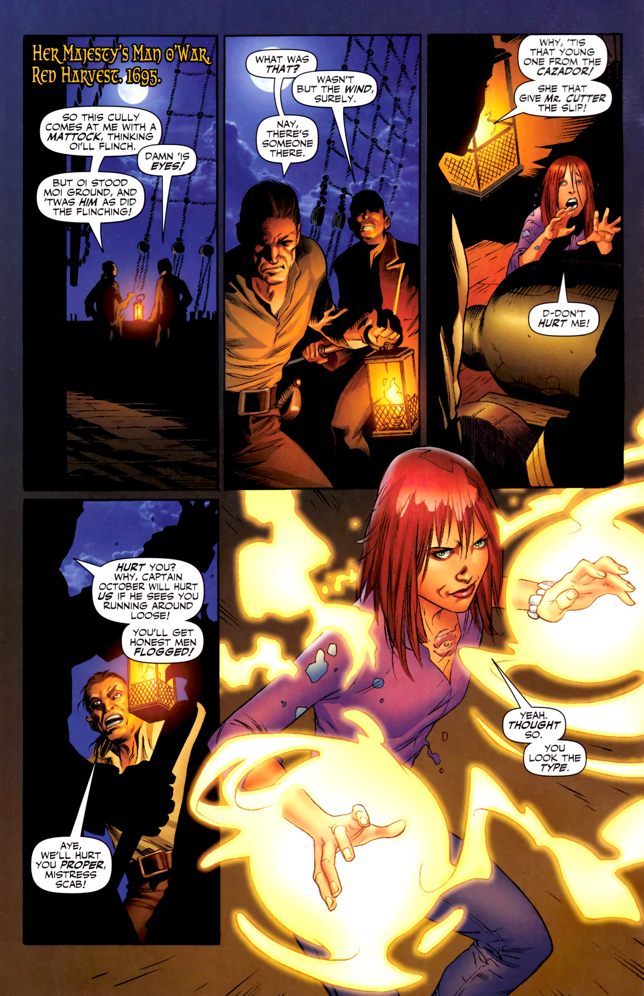 Read online Sigil (2011) comic -  Issue #3 - 3