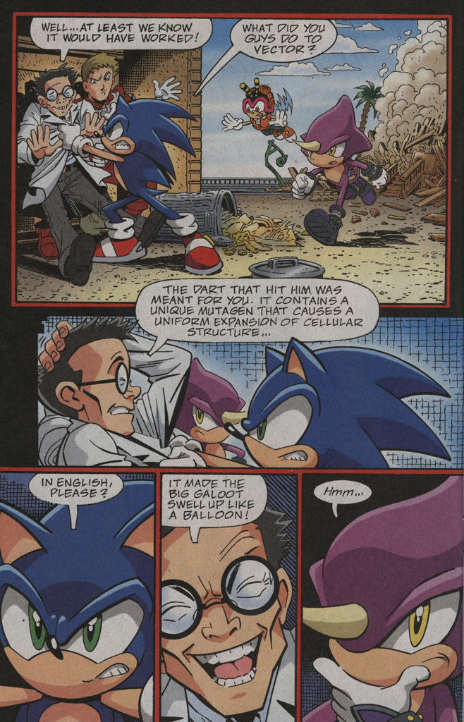 Read online Sonic X comic -  Issue #39 - 6
