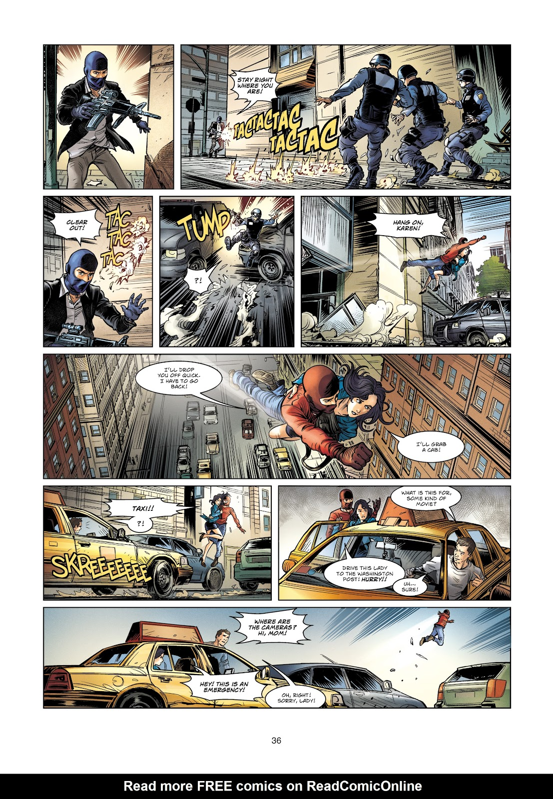 Read online Vigilantes comic -  Issue #4 - 36