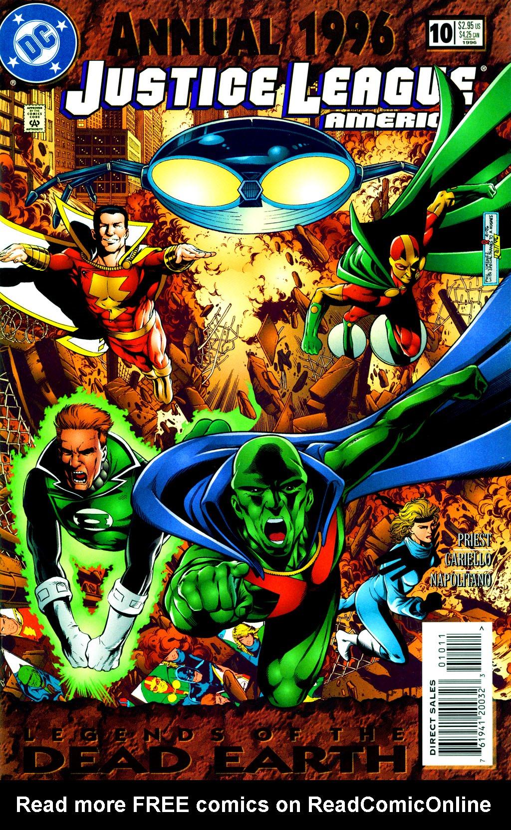 DC Justice League America #112 Comic Book 1996