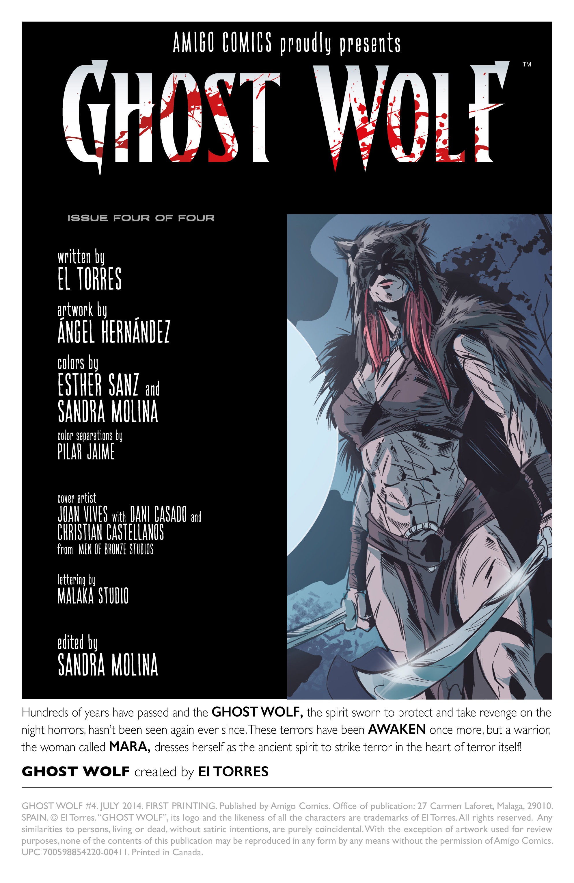 Read online Ghost Wolf comic -  Issue #4 - 2